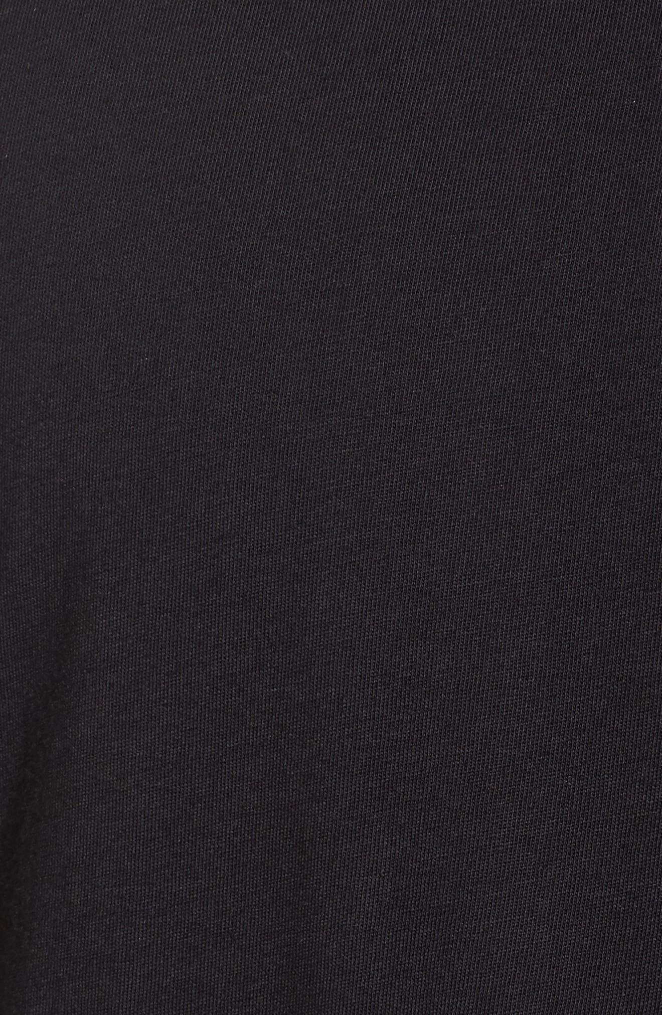 Hugo Boss Drison Hashmark Graphic T-Shirt,                             Alternate thumbnail 5, color,                             001