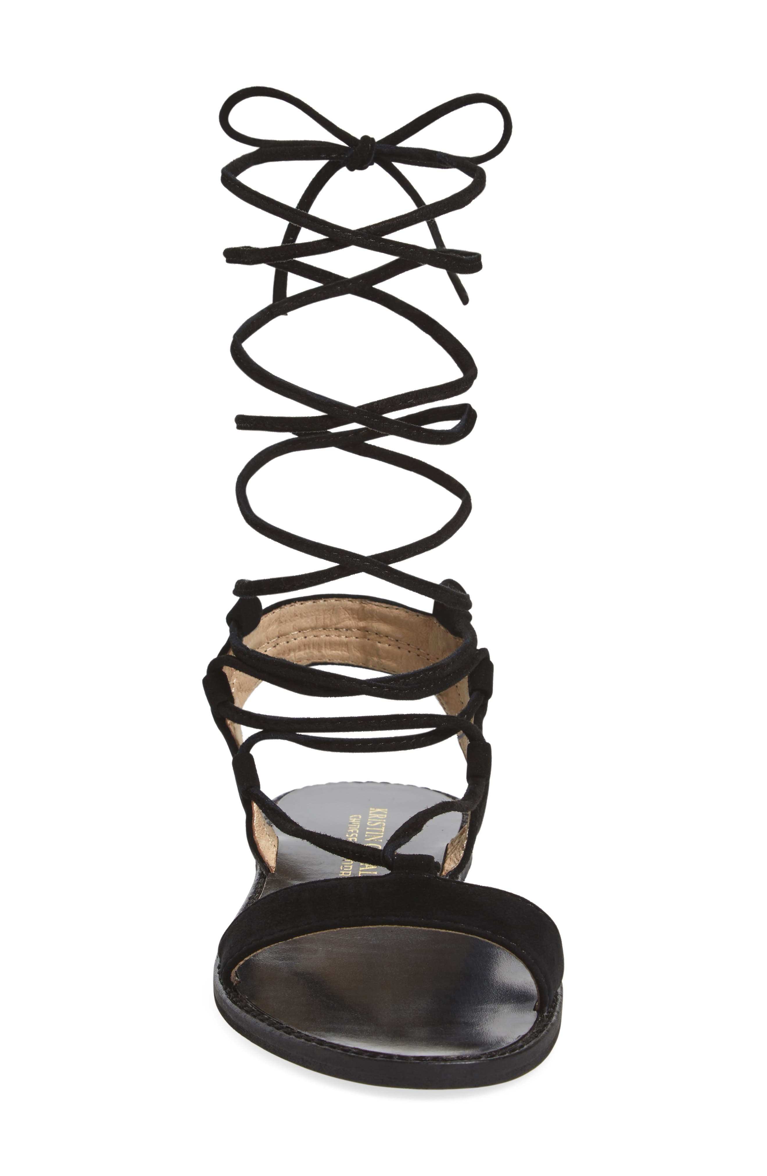Brea Ankle Wrap Sandal,                             Alternate thumbnail 7, color,