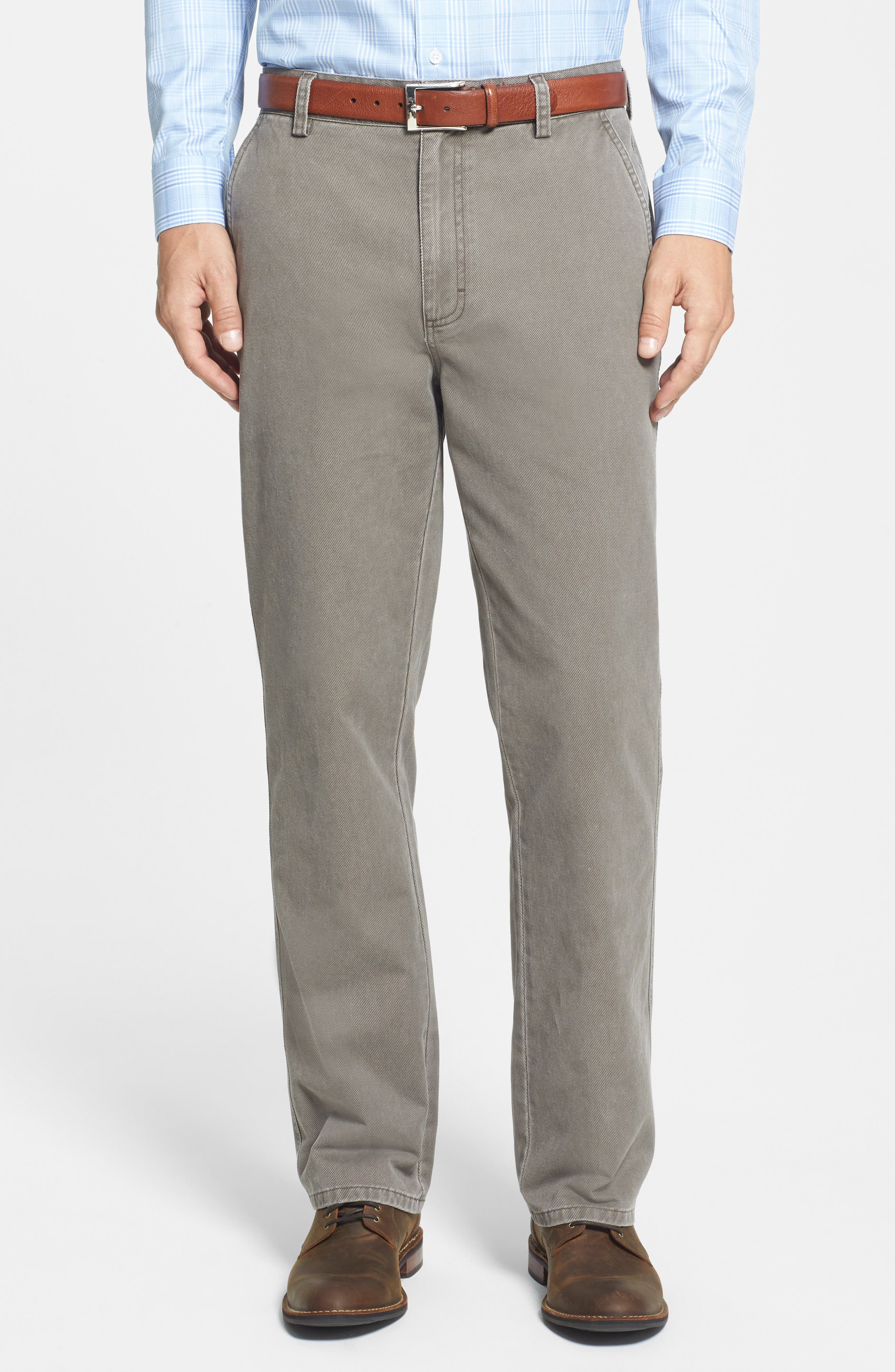 Curtis Flat Front Five-Pocket Cotton Twill Pants,                             Alternate thumbnail 2, color,                             218