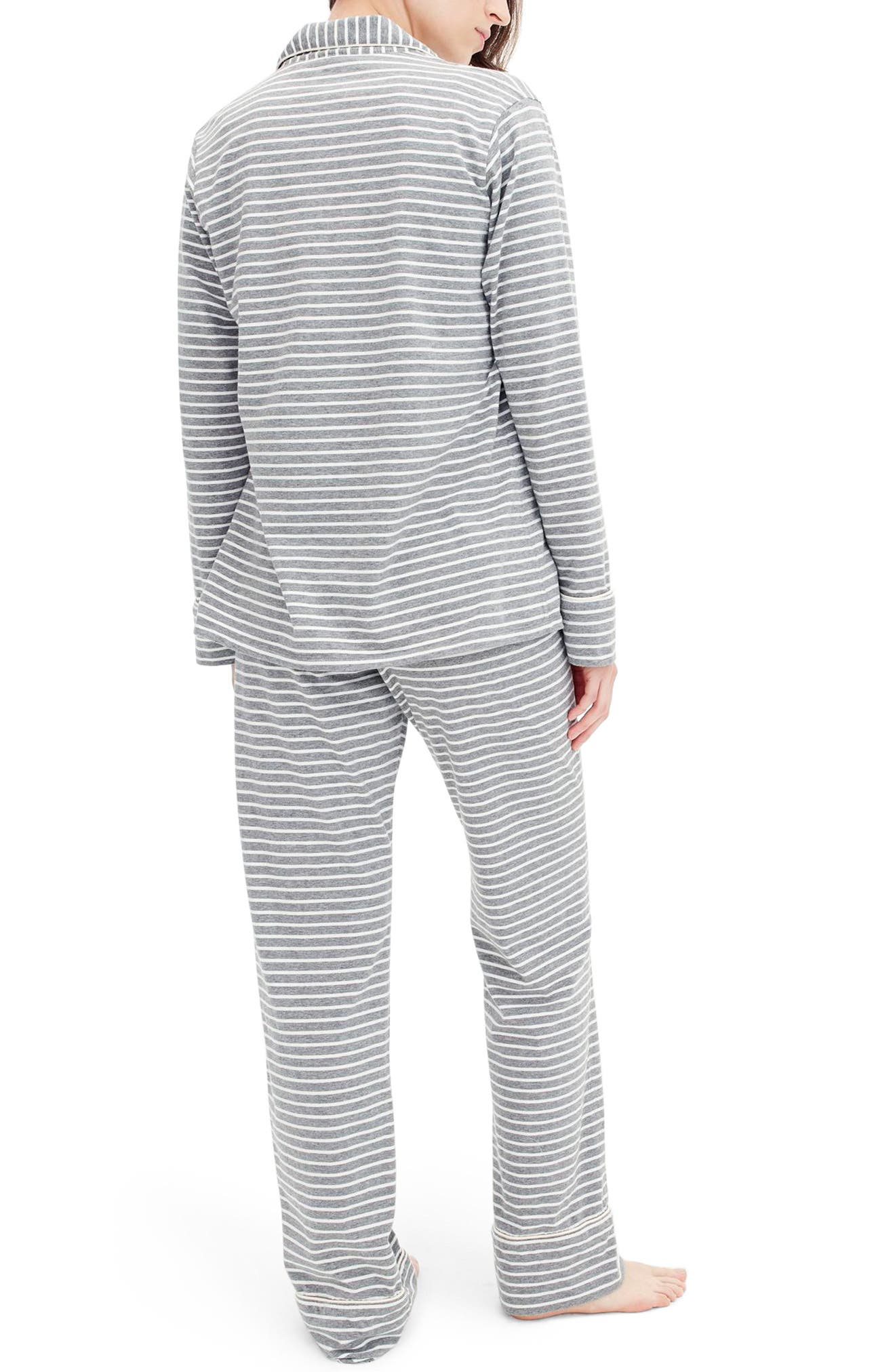 Dreamy Stripe Cotton Pajamas,                             Alternate thumbnail 2, color,                             020