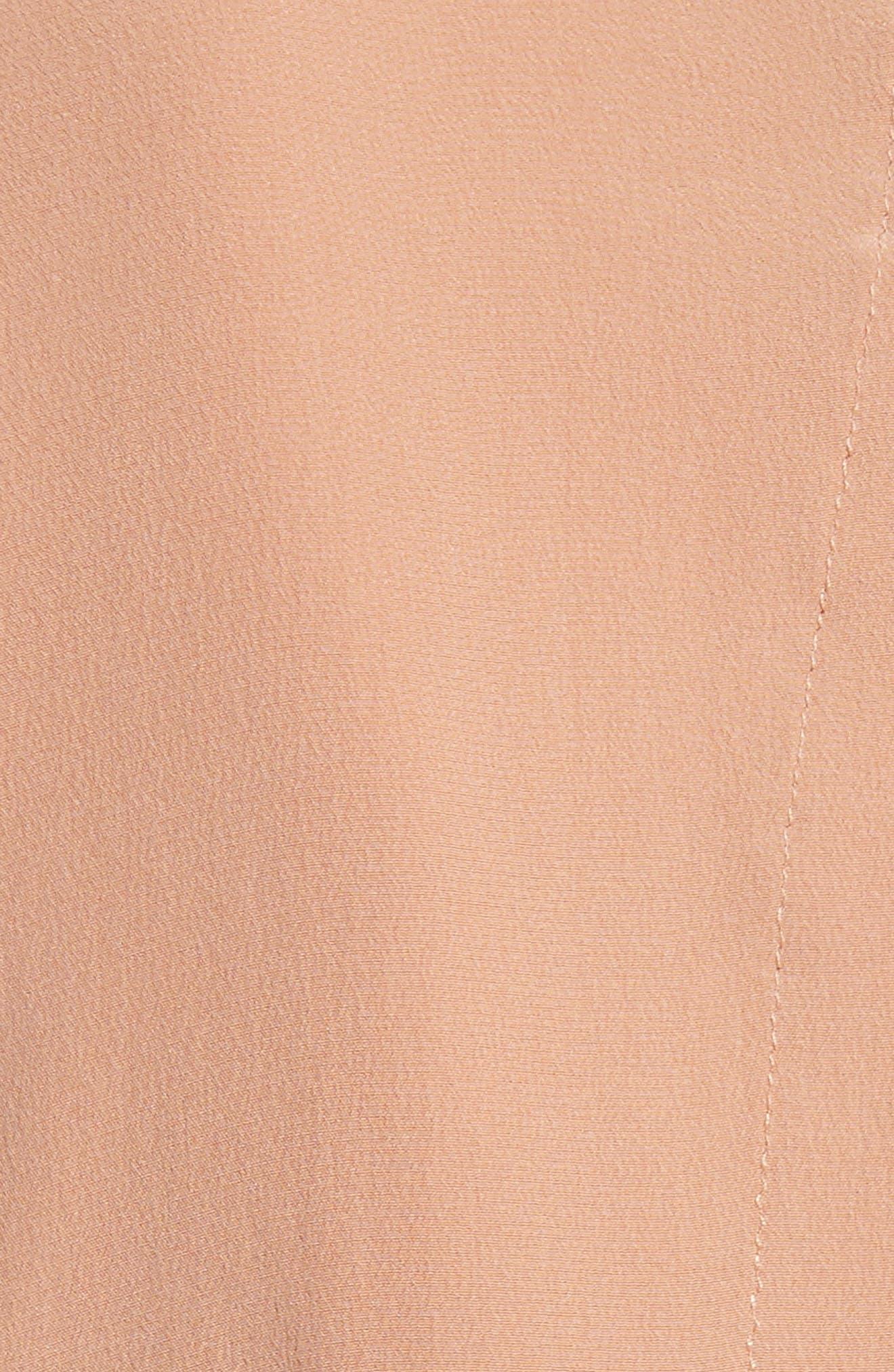 Silk Slit Back Shirtdress,                             Alternate thumbnail 10, color,