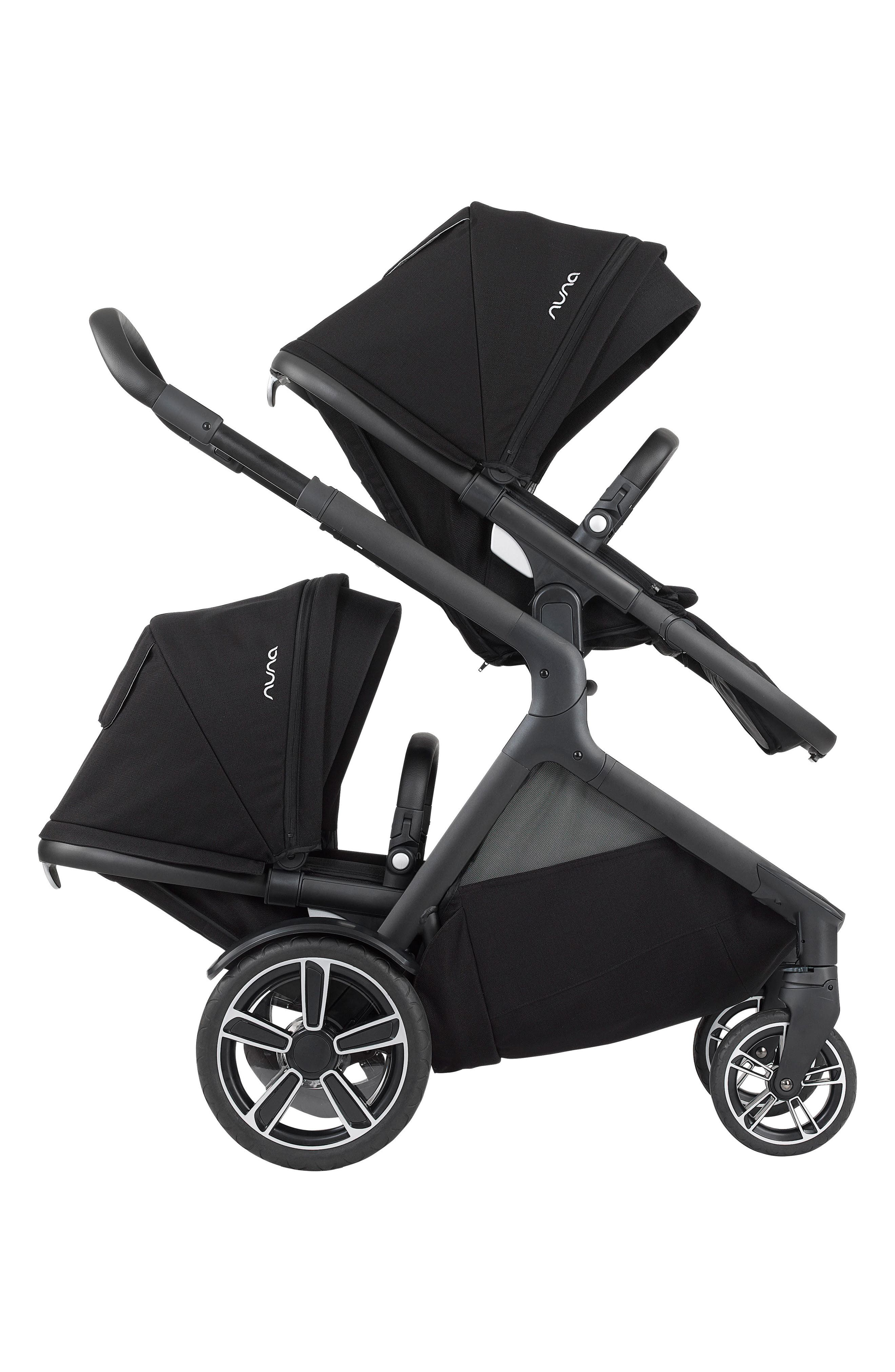 DEMI<sup>™</sup> Grow Sibling Seat Attachment for DEMI Grow Stroller,                             Alternate thumbnail 4, color,                             CAVIAR