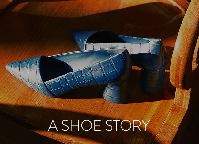 A shoe story: women's fall shoes.