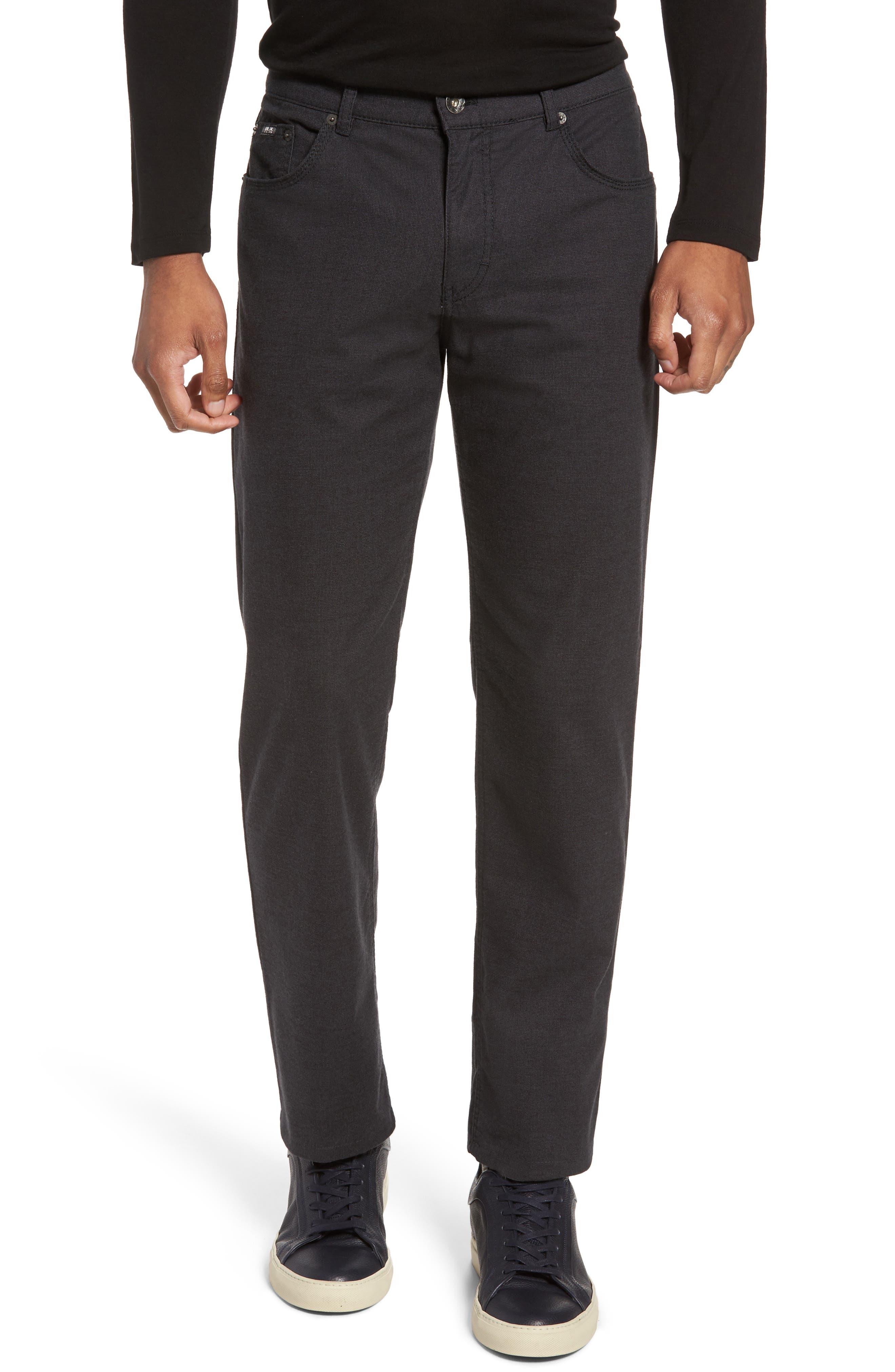 Five-Pocket Stretch Cotton Trousers,                         Main,                         color,