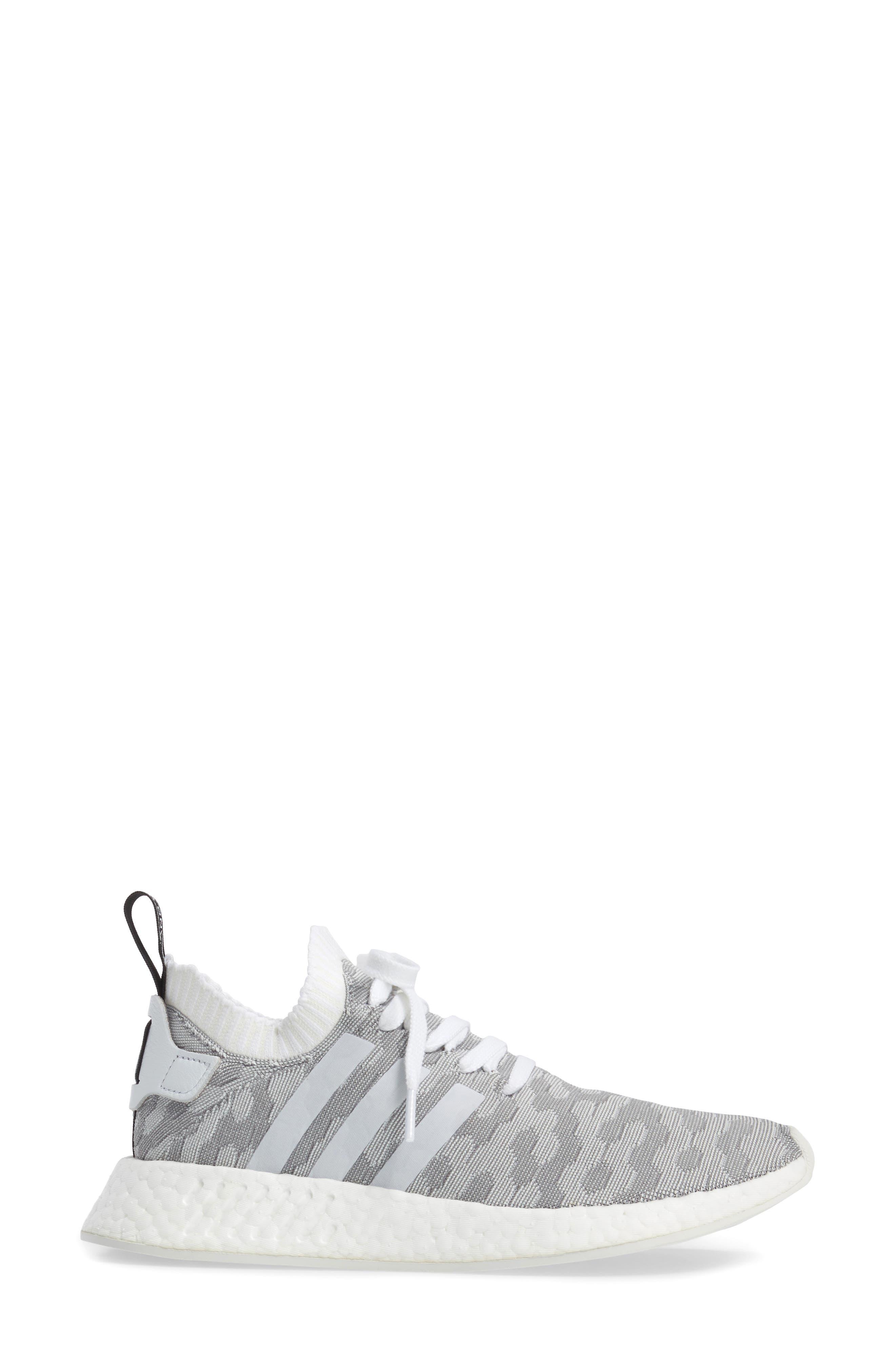 NMD R2 Primeknit Athletic Shoe,                             Alternate thumbnail 14, color,