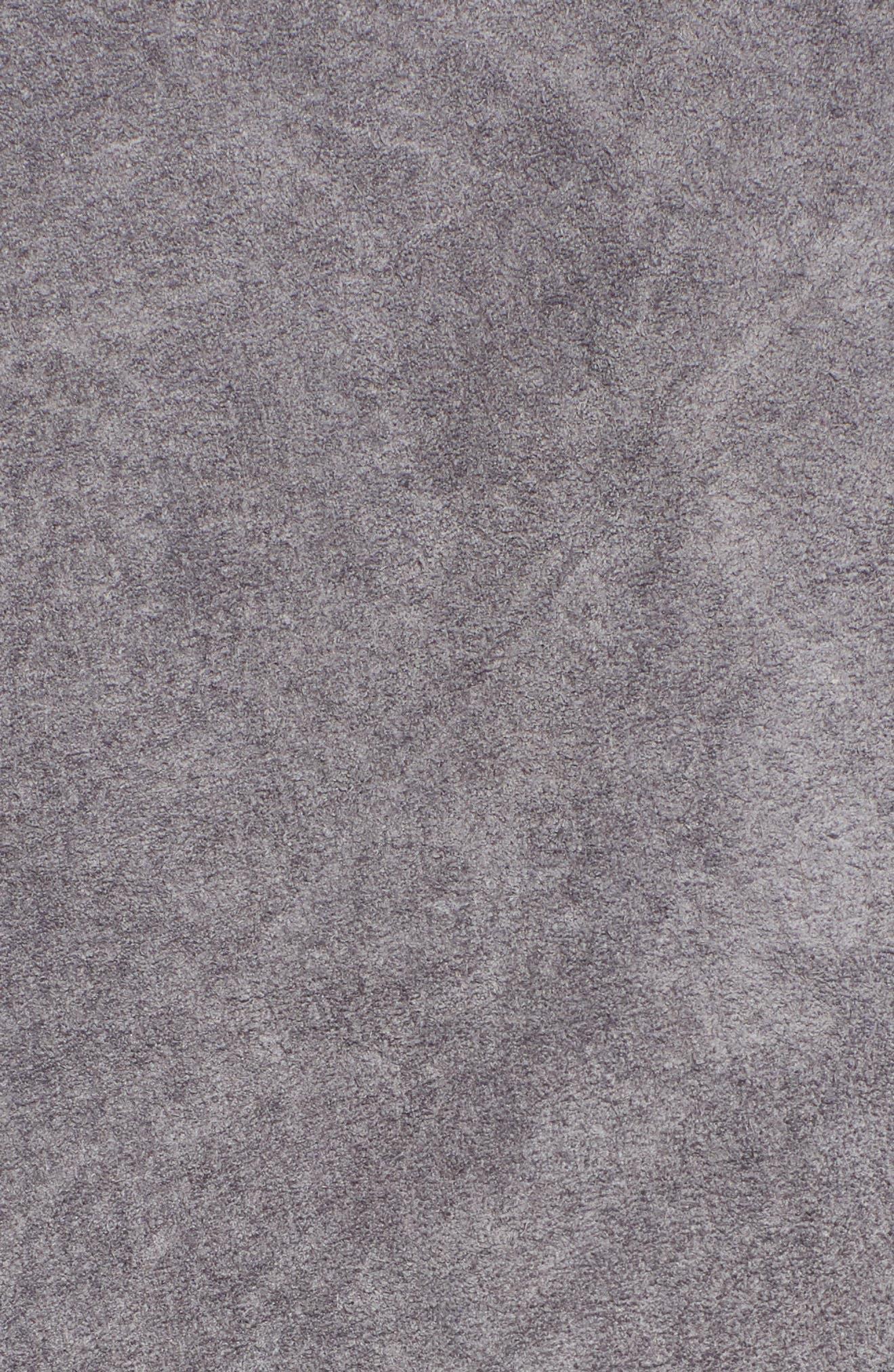 BLANKNYC,                             No Limit Suede Moto Jacket,                             Alternate thumbnail 7, color,                             SILVERSCREEN