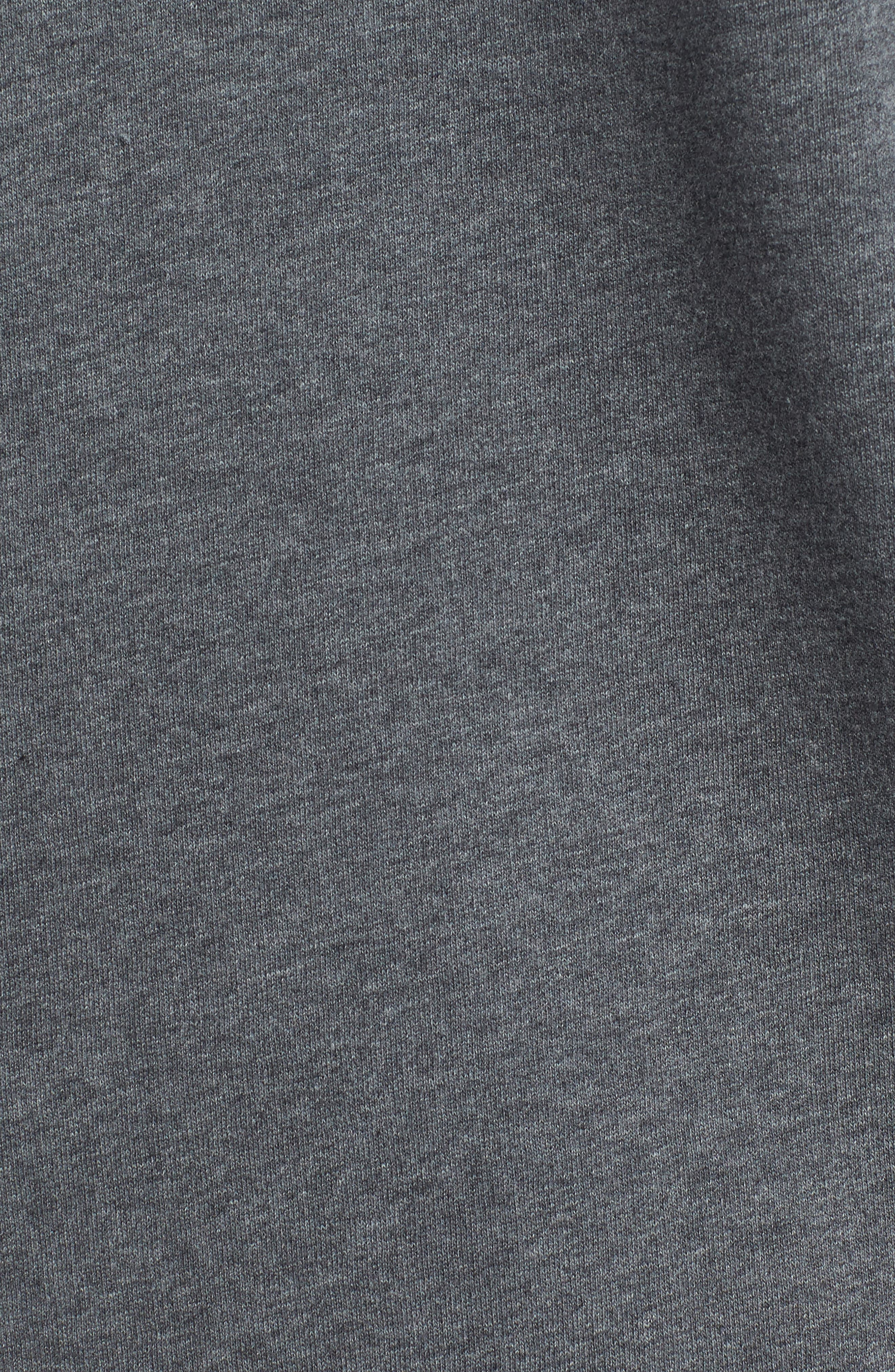 Brushed Fleece Logo Hoodie,                             Alternate thumbnail 9, color,