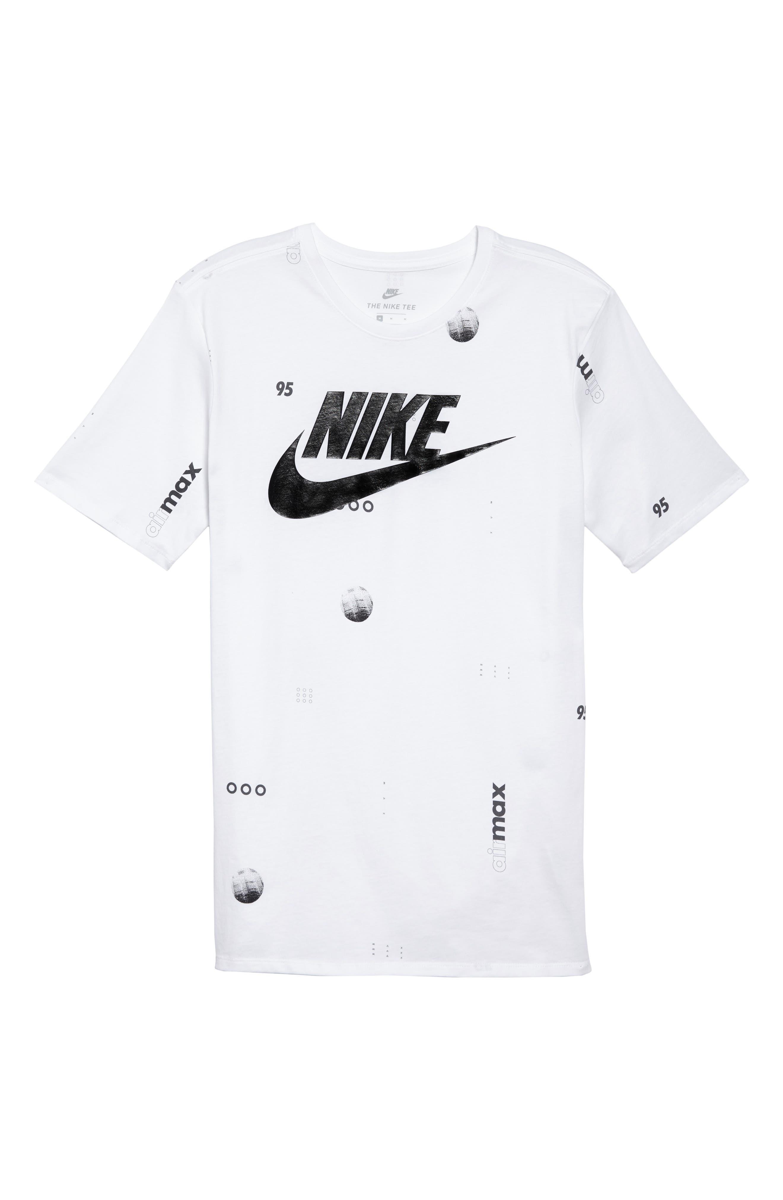 Sportswear Air Max Print T-Shirt,                             Alternate thumbnail 12, color,