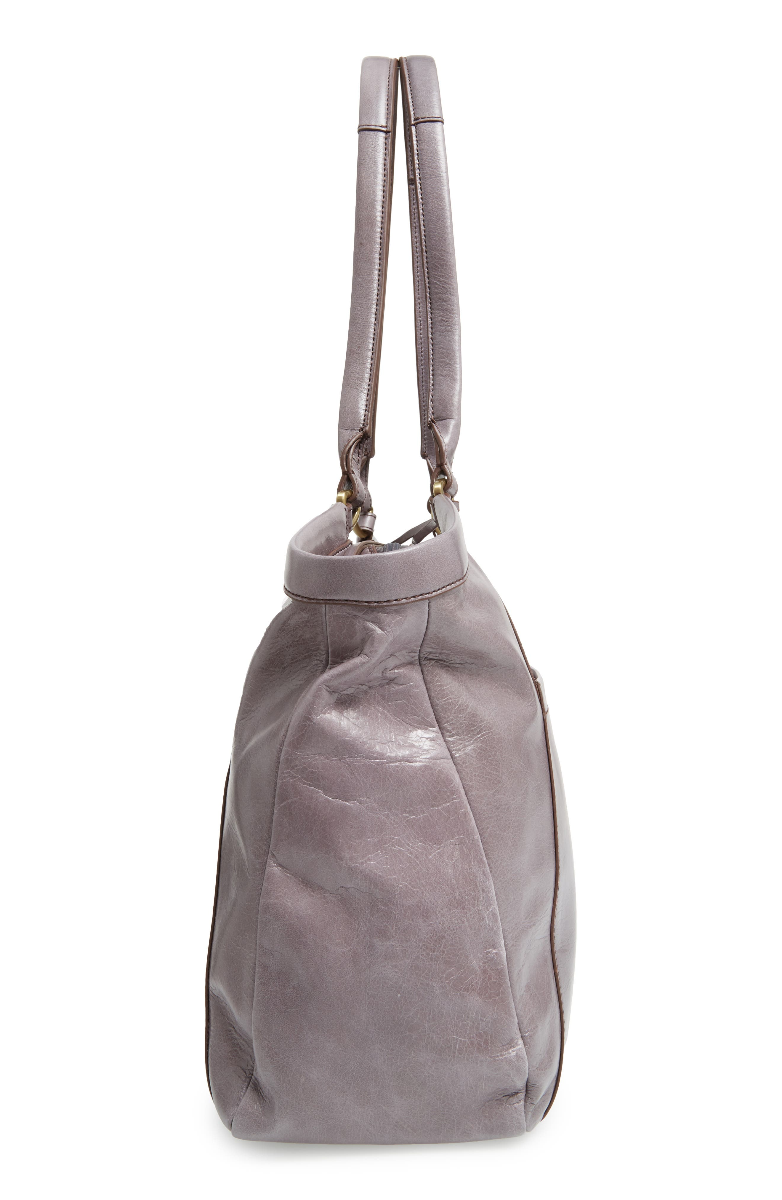 Maryanna Leather Tote,                             Alternate thumbnail 24, color,
