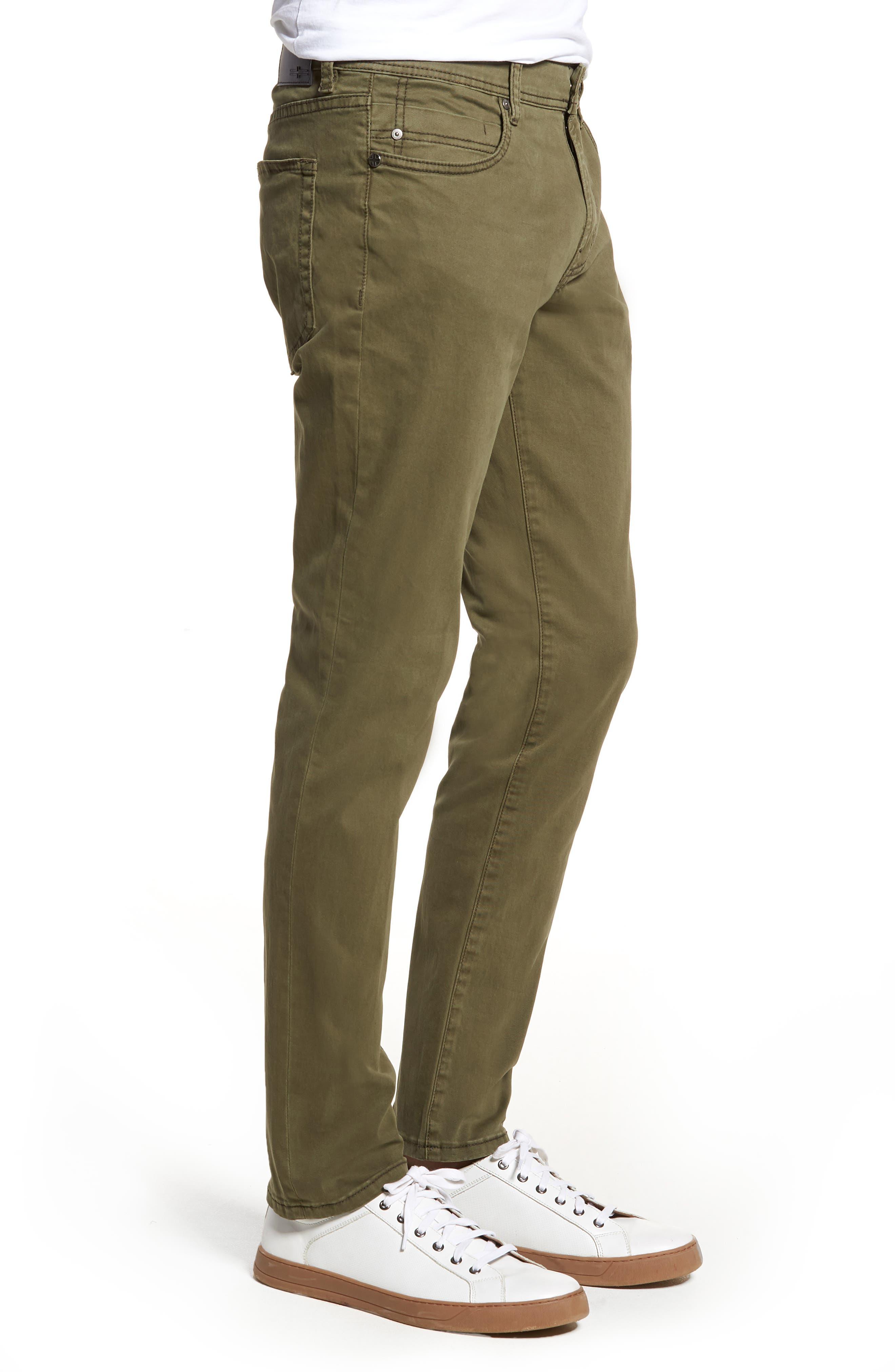 Jeans Co. Kingston Slim Straight Leg Jeans,                             Alternate thumbnail 3, color,                             OLIVE NIGHT