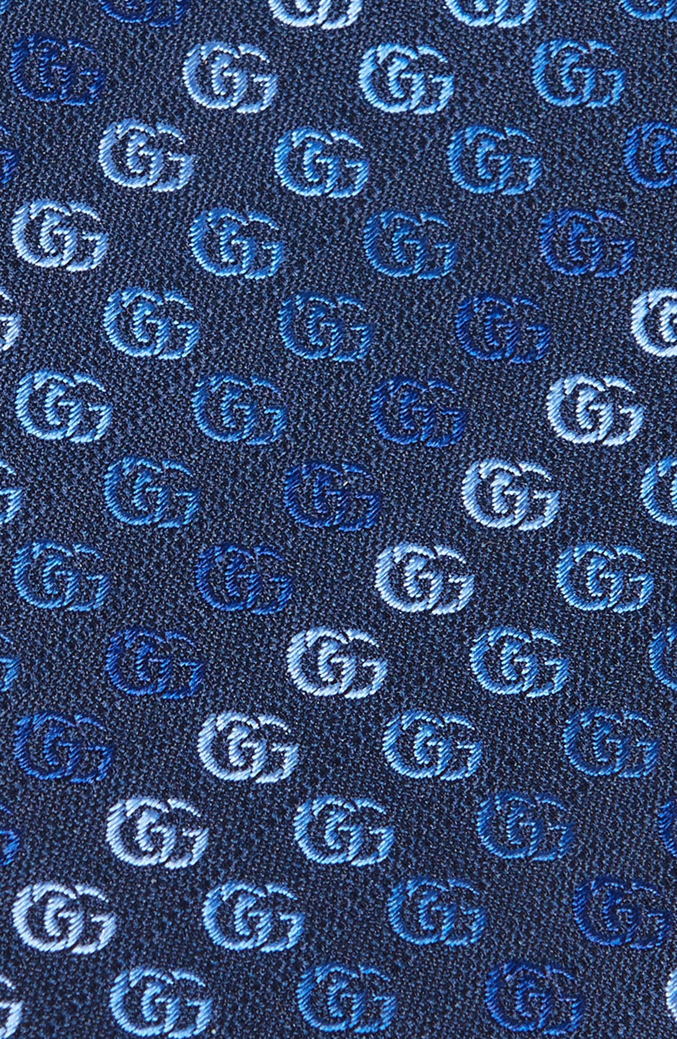 Soft Running GG Silk Tie,                             Alternate thumbnail 2, color,                             452