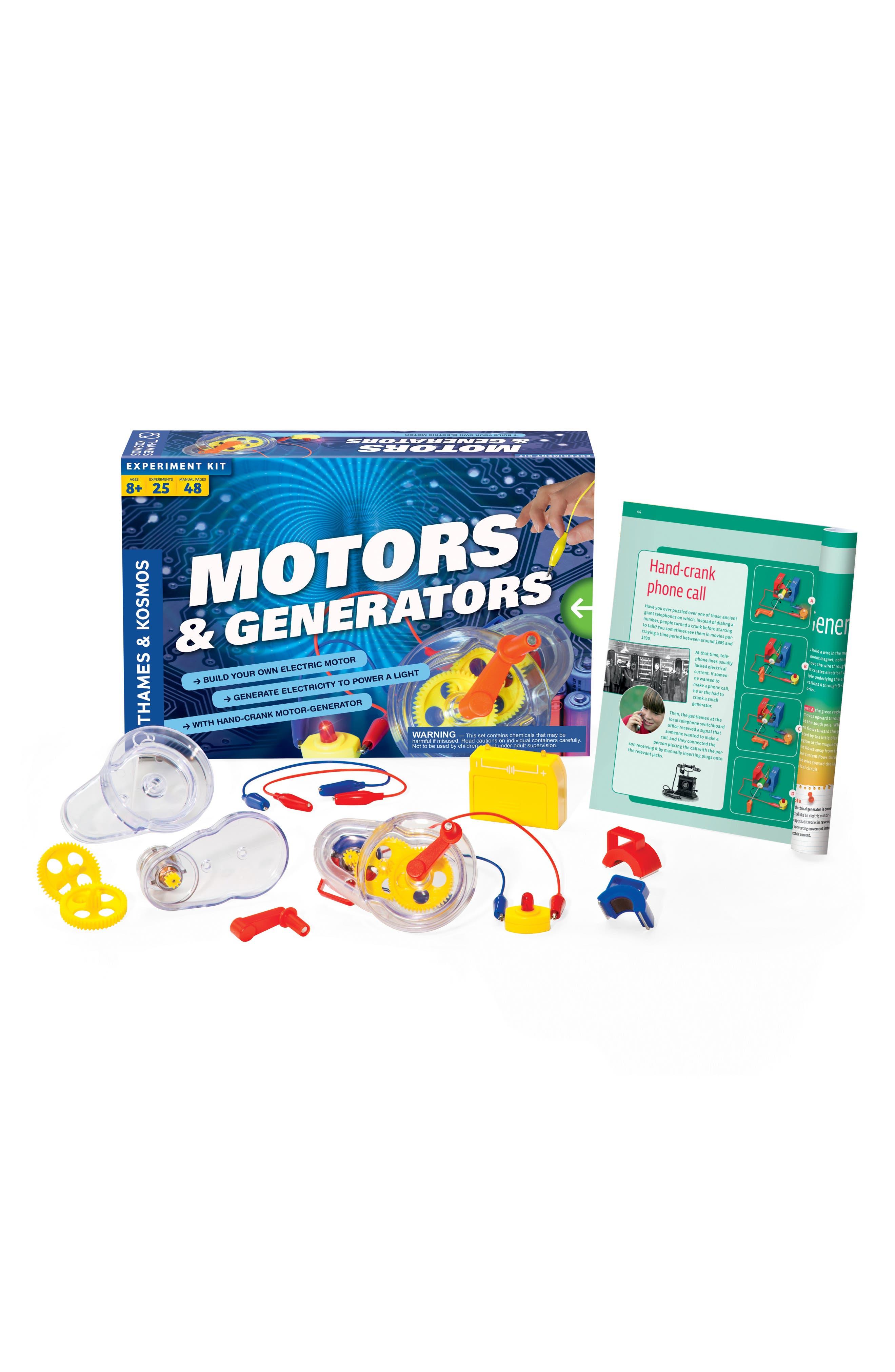 'Motors & Generators' Experiment Kit,                             Alternate thumbnail 2, color,                             NONE