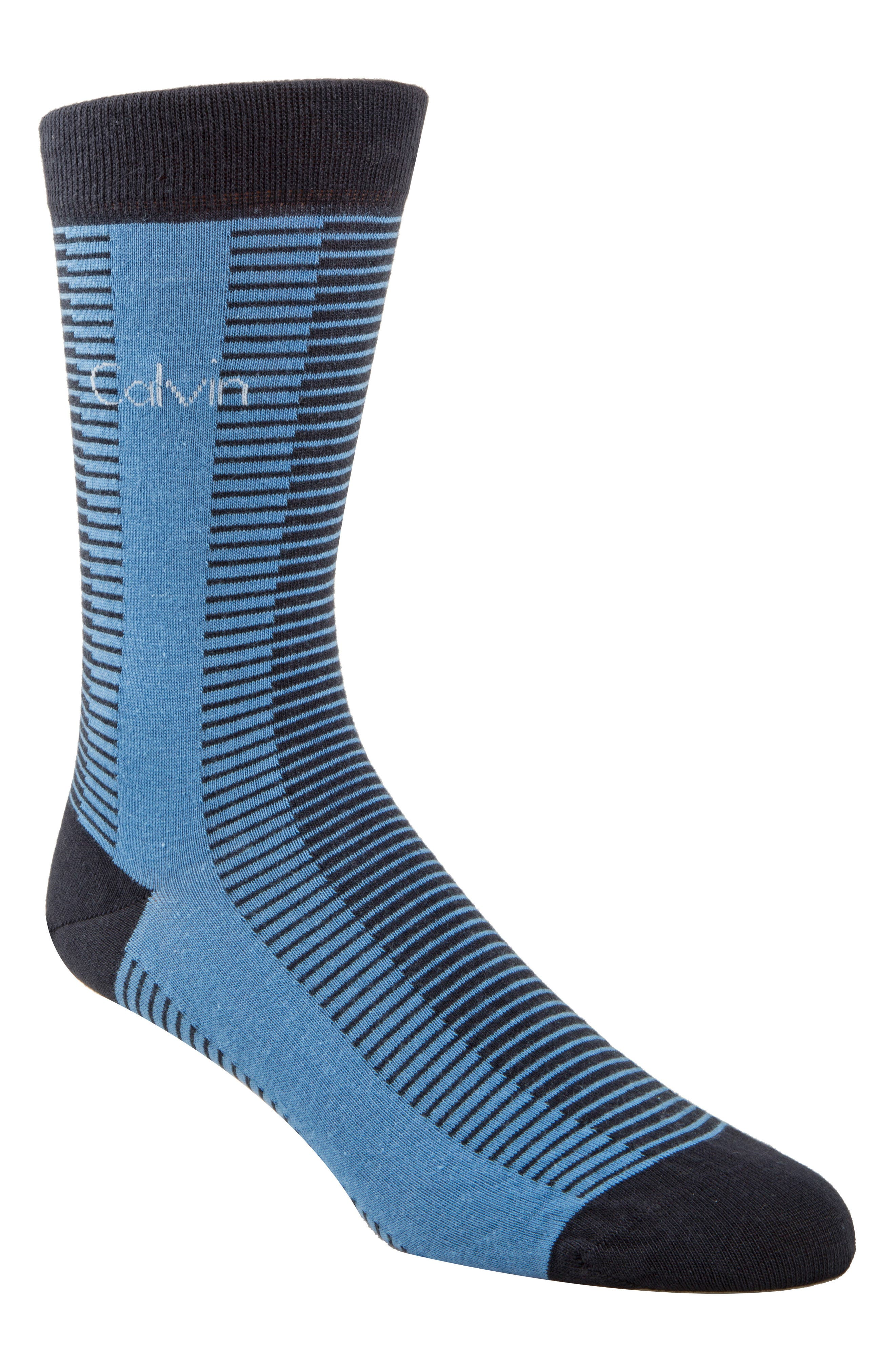 Giza Stripe Socks,                             Main thumbnail 1, color,                             410