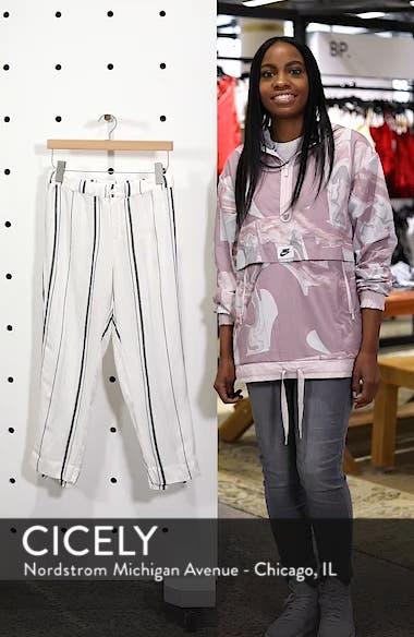 Annika Stripe Crop Pants, sales video thumbnail