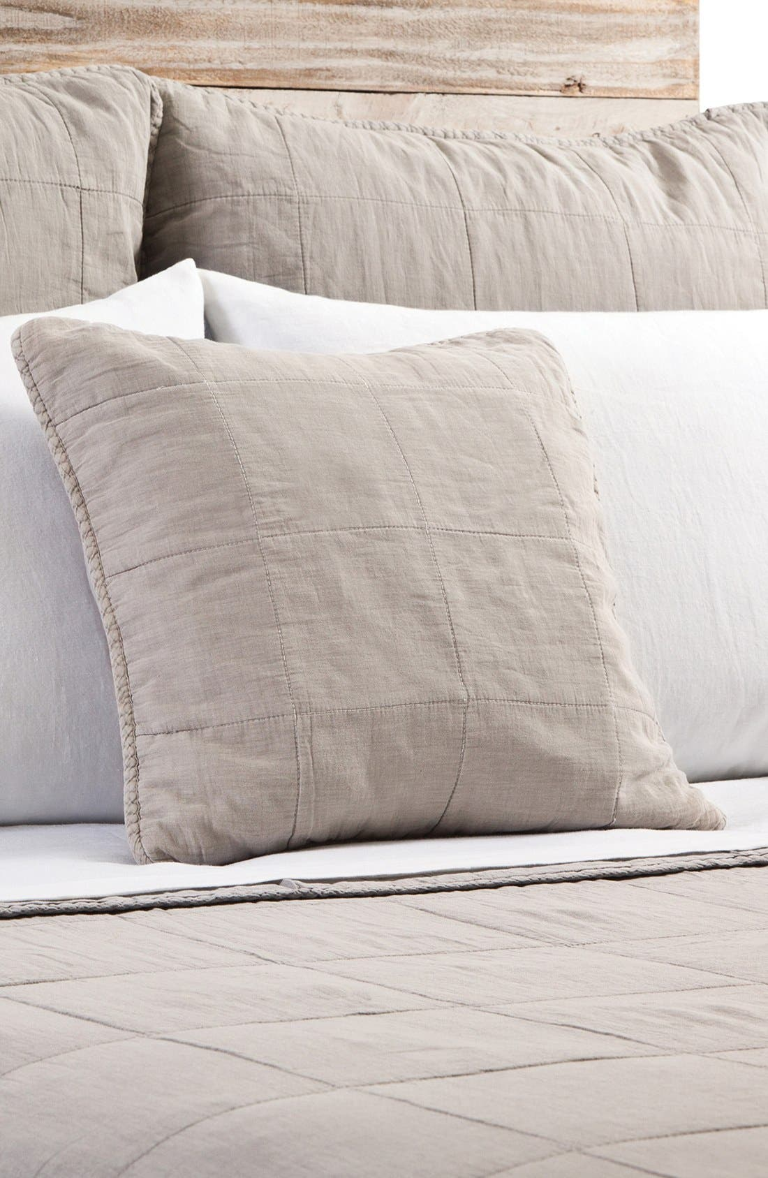 POM POM AT HOME,                             'Antwerp' Cotton Coverlet,                             Main thumbnail 1, color,                             NATURAL