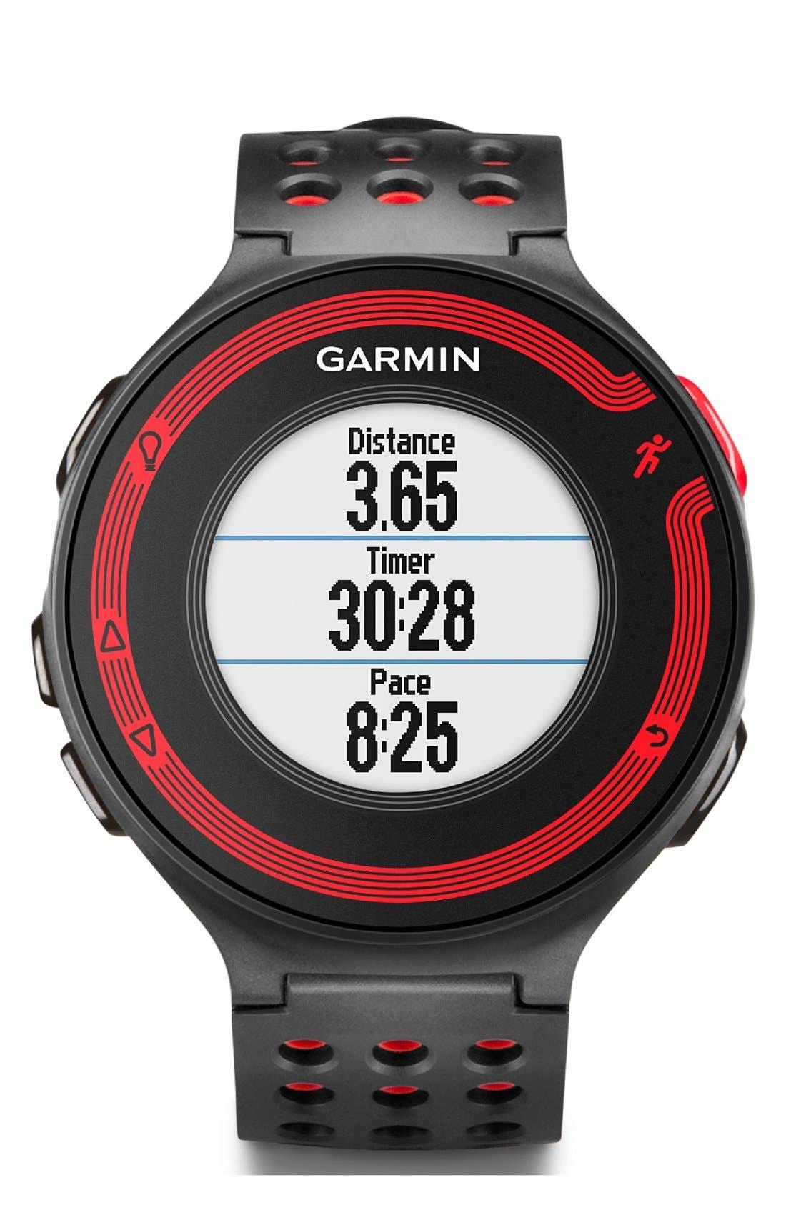GARMIN,                             'Forerunner 220' Fitness Watch, 45mm,                             Alternate thumbnail 6, color,                             001