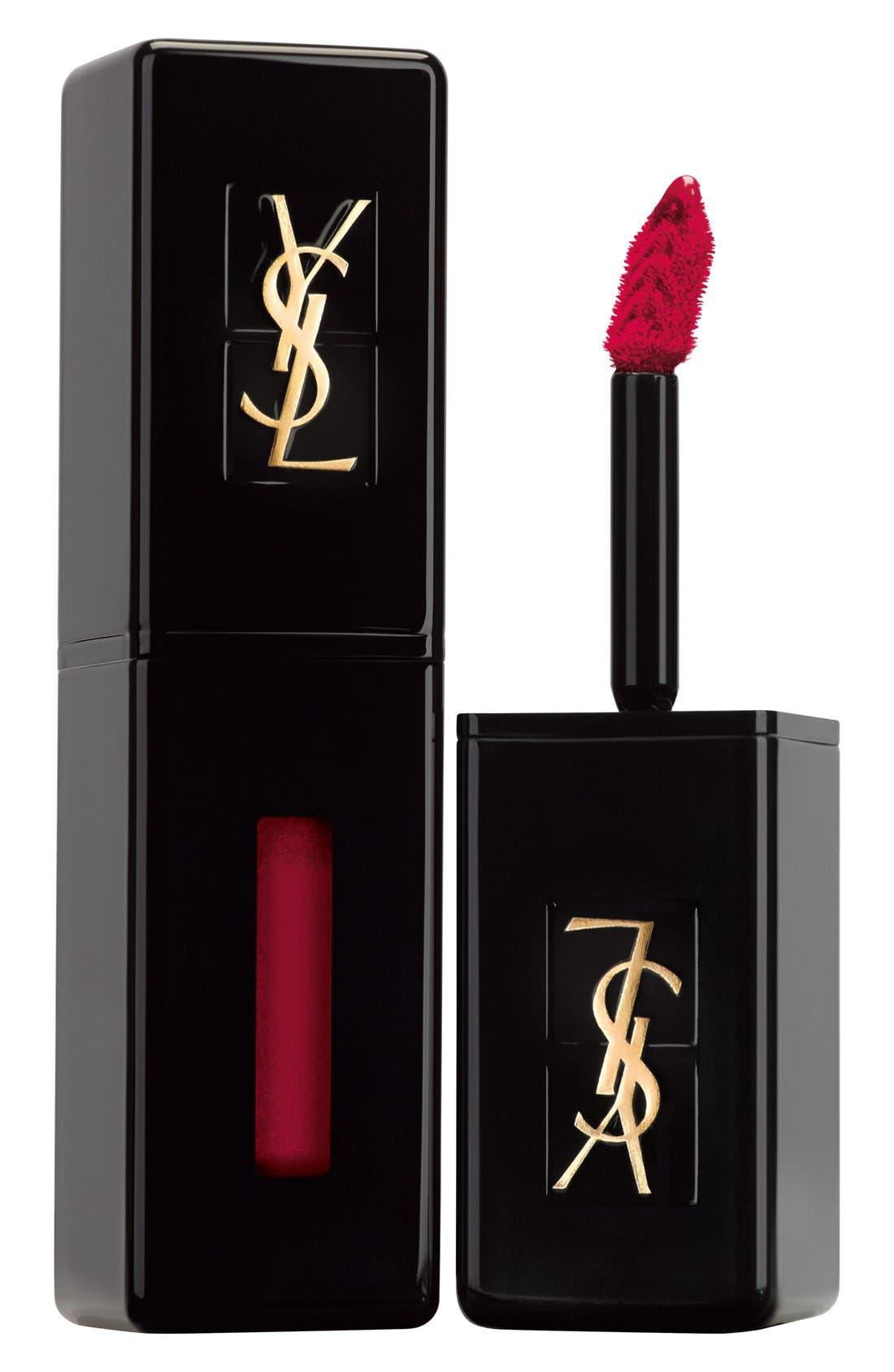 Yves Saint Laurent Vinyl Cream Lip Stain - 409 Burgundy Vibes