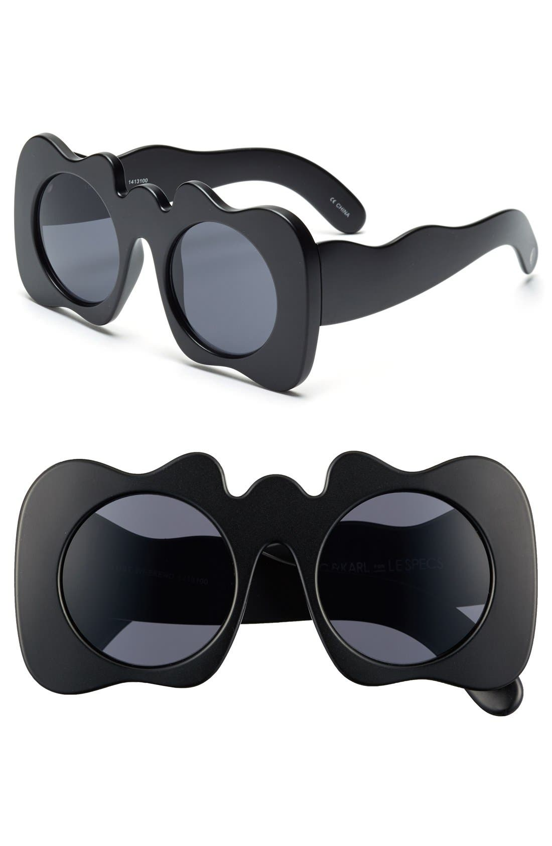 Craig and Karl x Le Specs 'Lost Weekend' 47mm Sunglasses,                             Main thumbnail 1, color,                             001