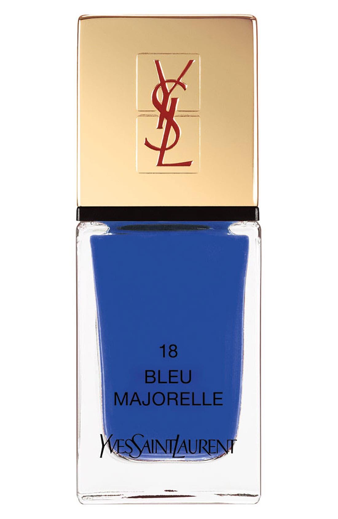 La Laque Couture Nail Lacquer - 18 Bleu Majorelle