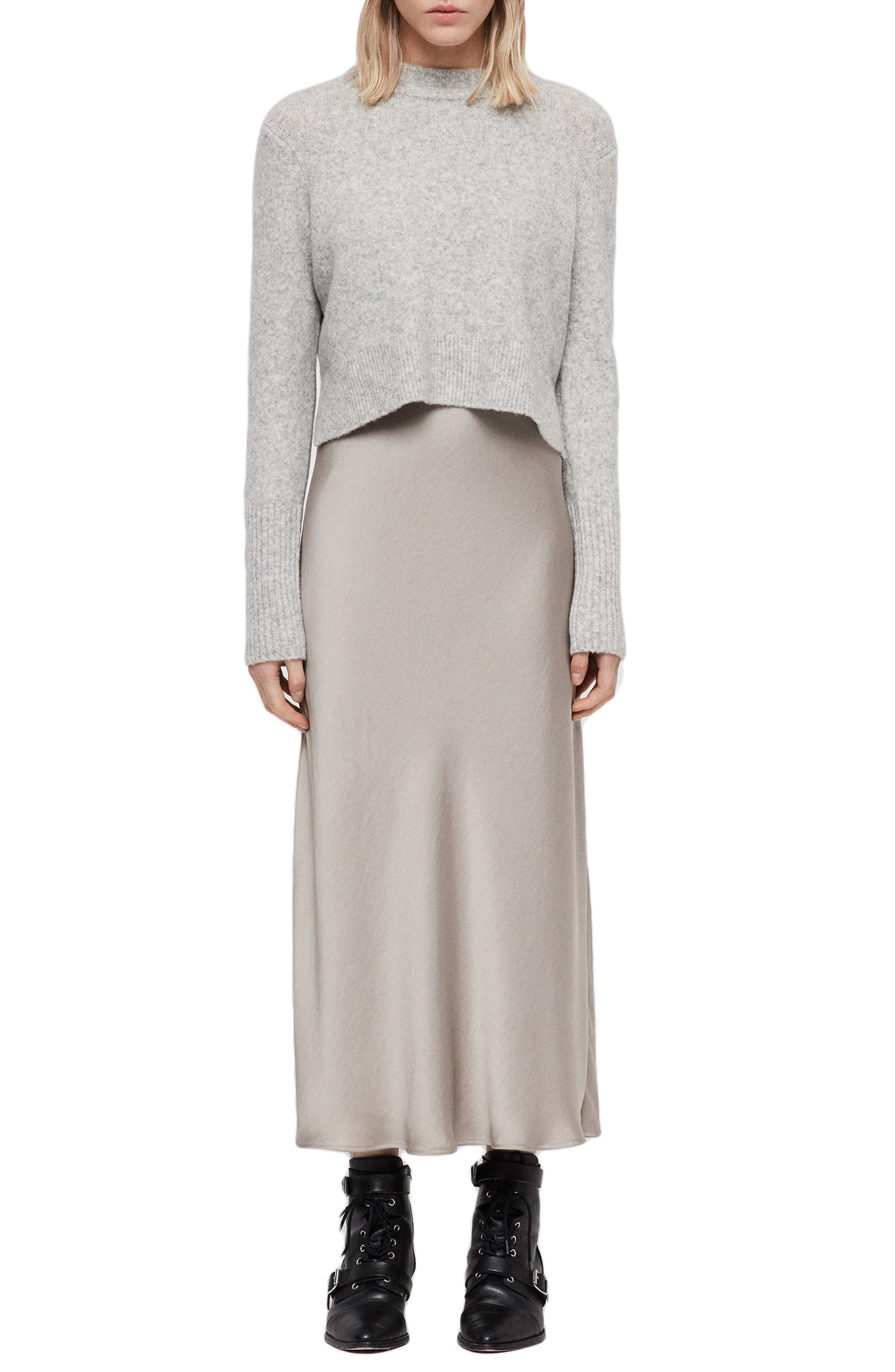 Tierny Two-Piece Sweater & Slipdress,                             Main thumbnail 1, color,                             029