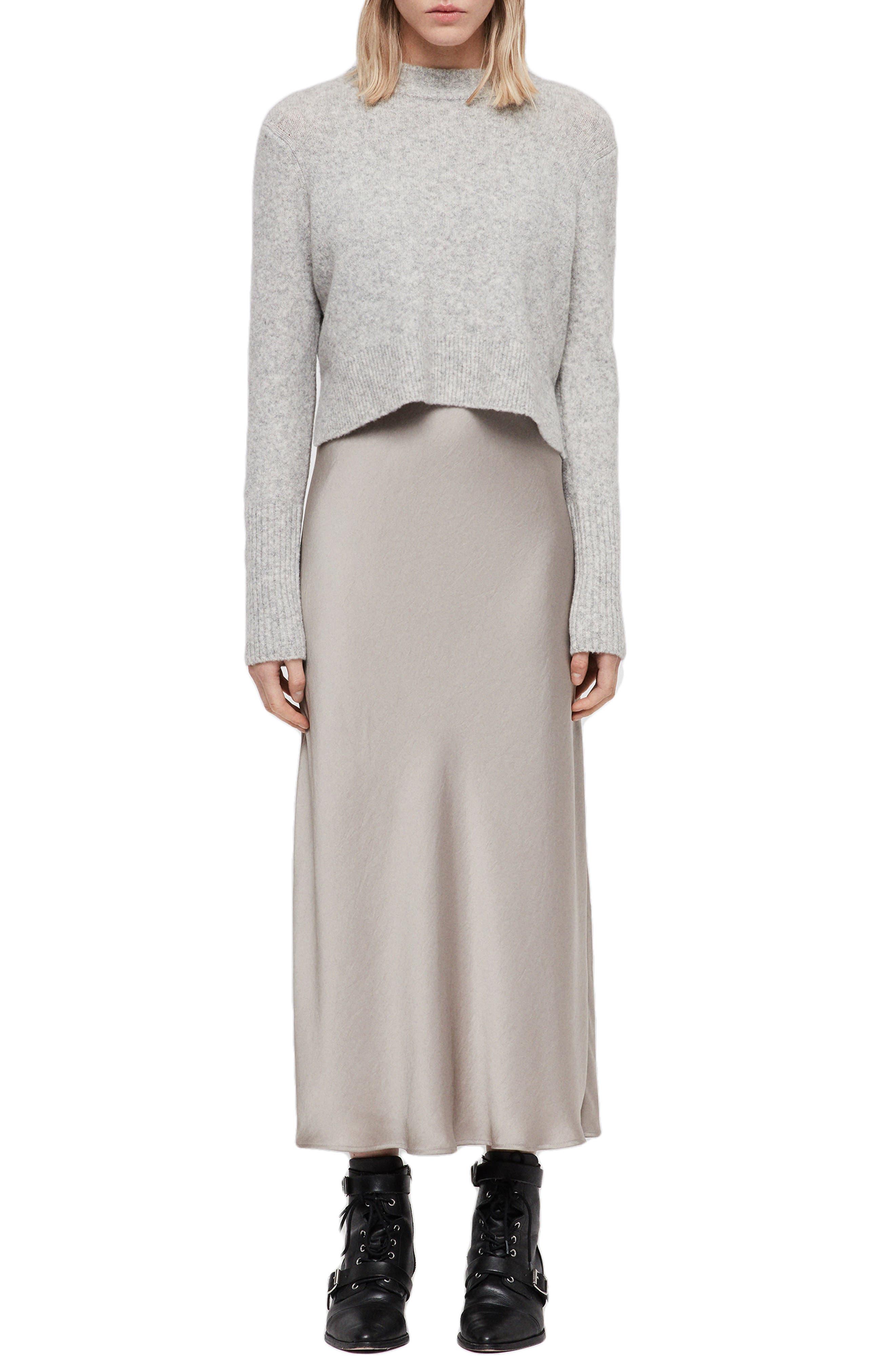 Tierny Two-Piece Sweater & Slipdress,                         Main,                         color, 029
