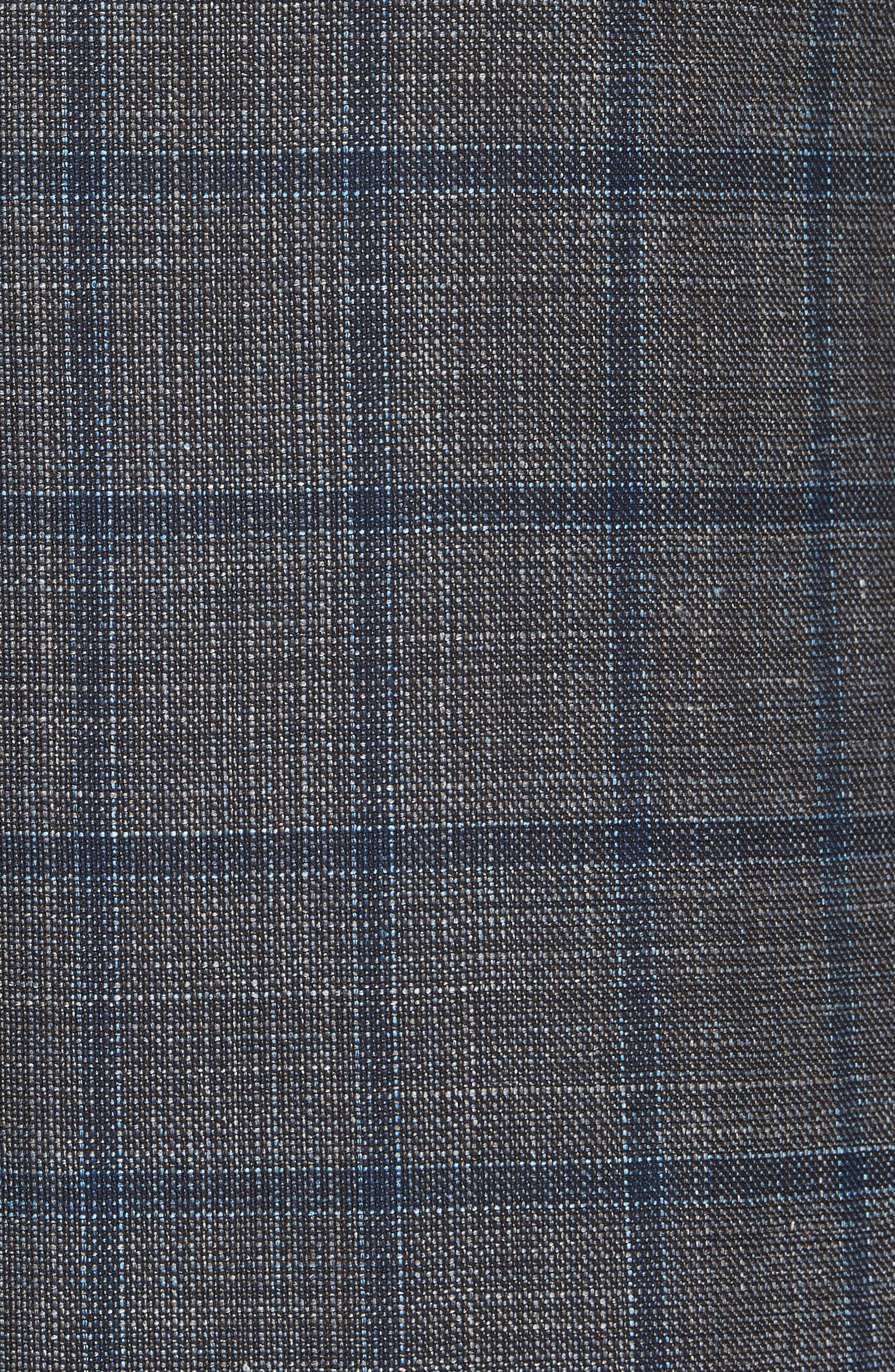 Kei Classic Fit Windowpane Wool Blend Sport Coat,                             Alternate thumbnail 6, color,                             200