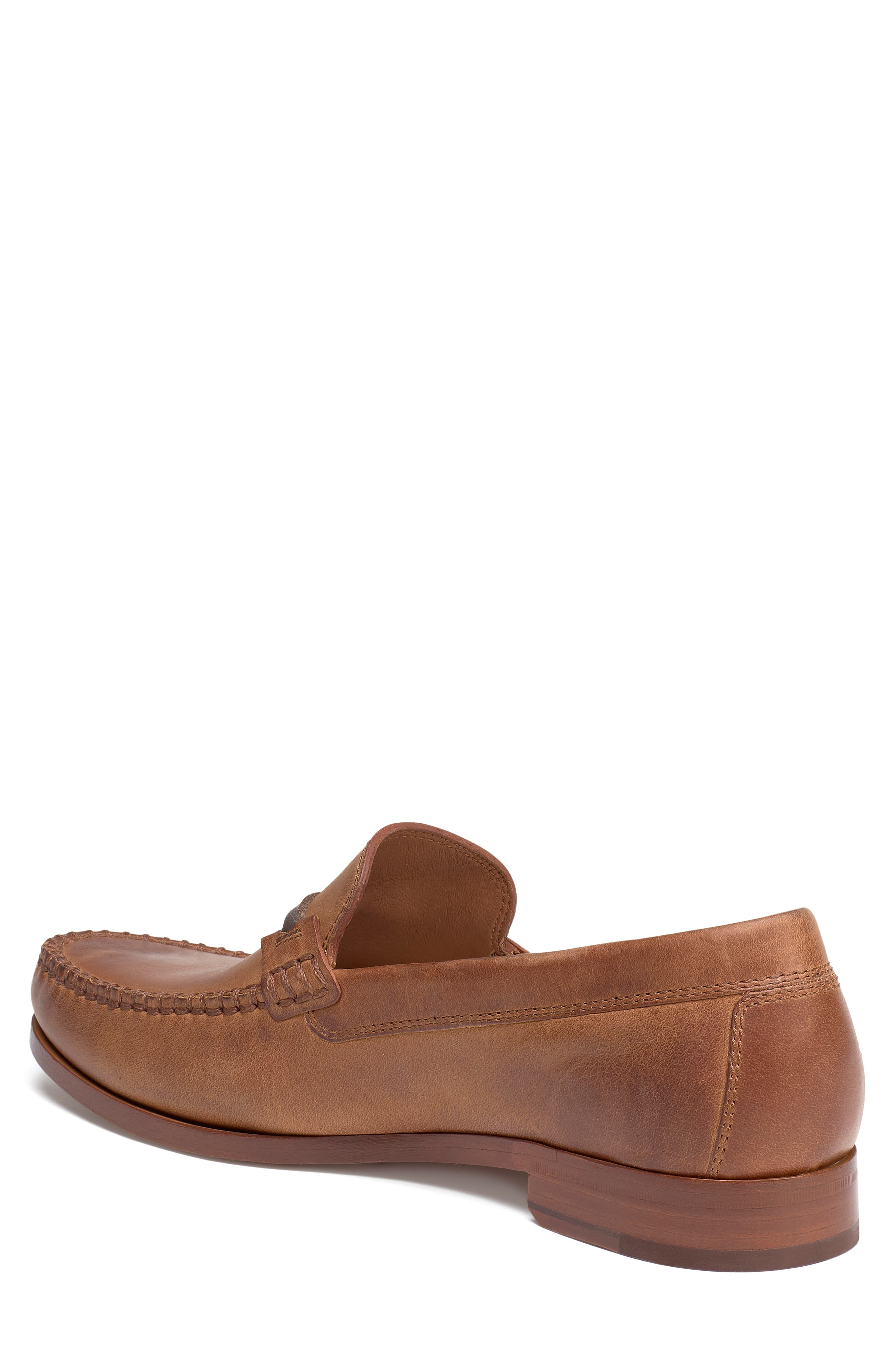 'Sawyer' Loafer,                             Alternate thumbnail 2, color,                             TAN LEATHER