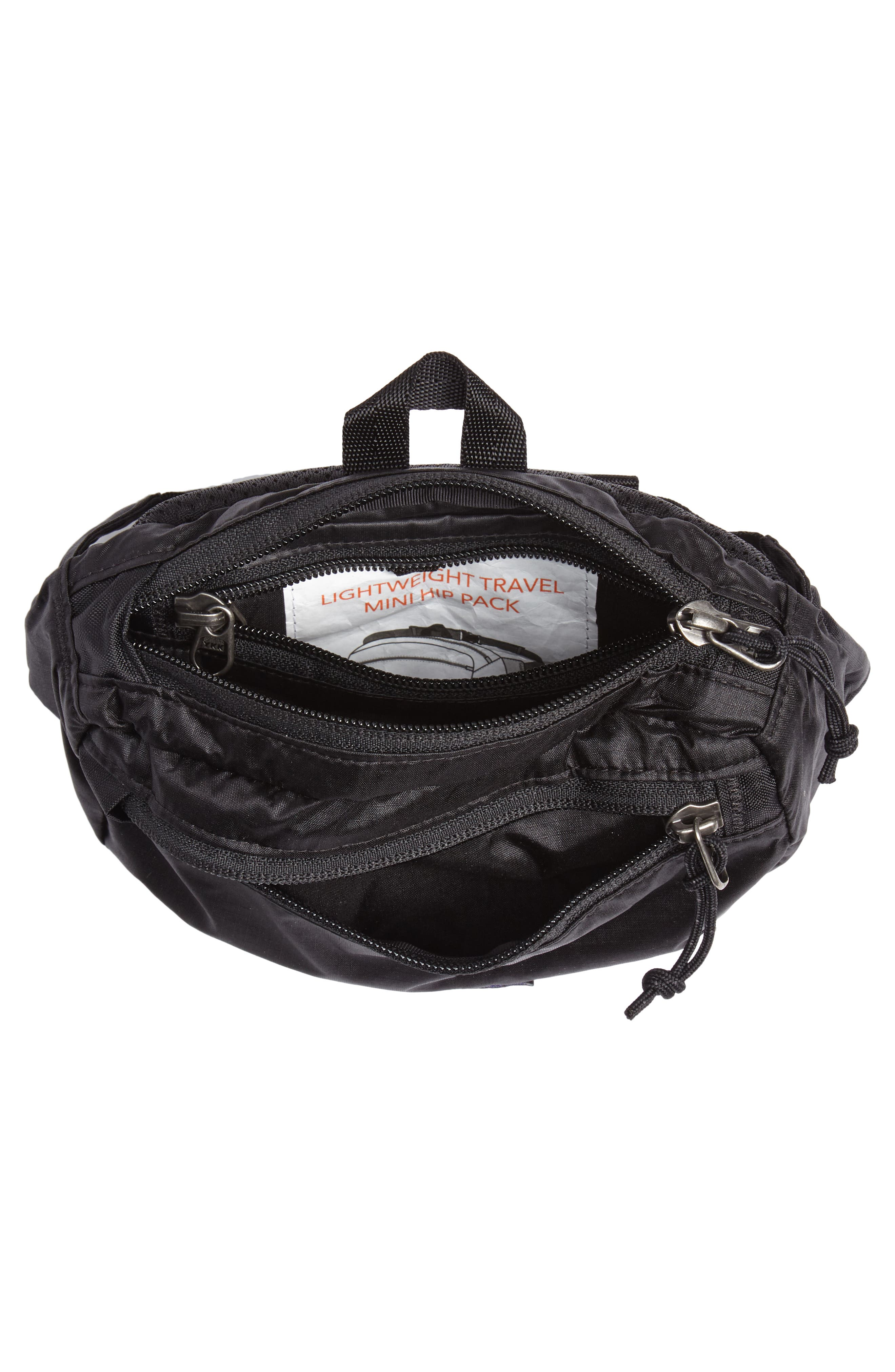 Travel Belt Bag,                             Alternate thumbnail 5, color,                             001