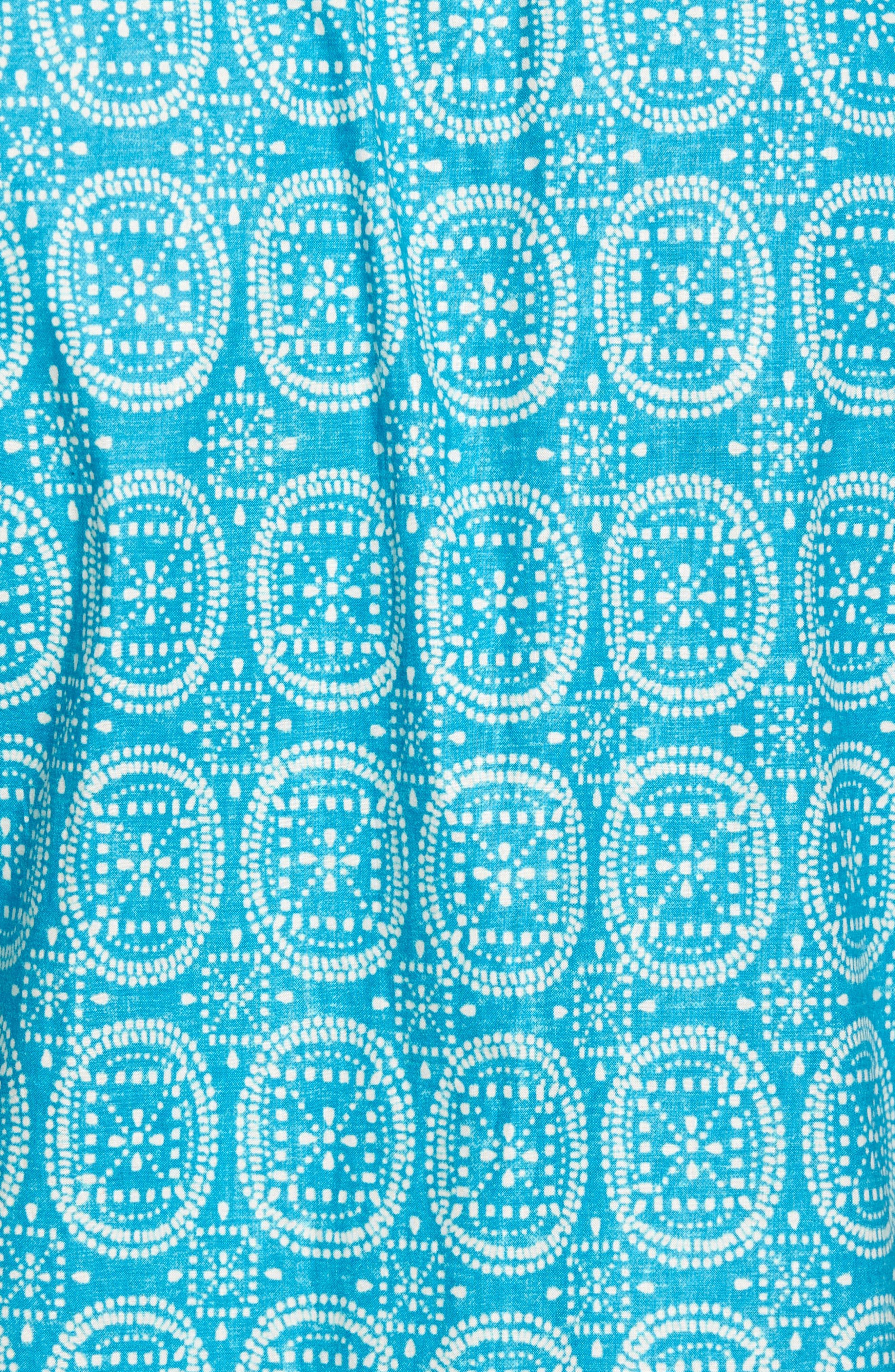 Sea Biscuits Trim Fit Print Sport Shirt,                             Alternate thumbnail 5, color,                             470
