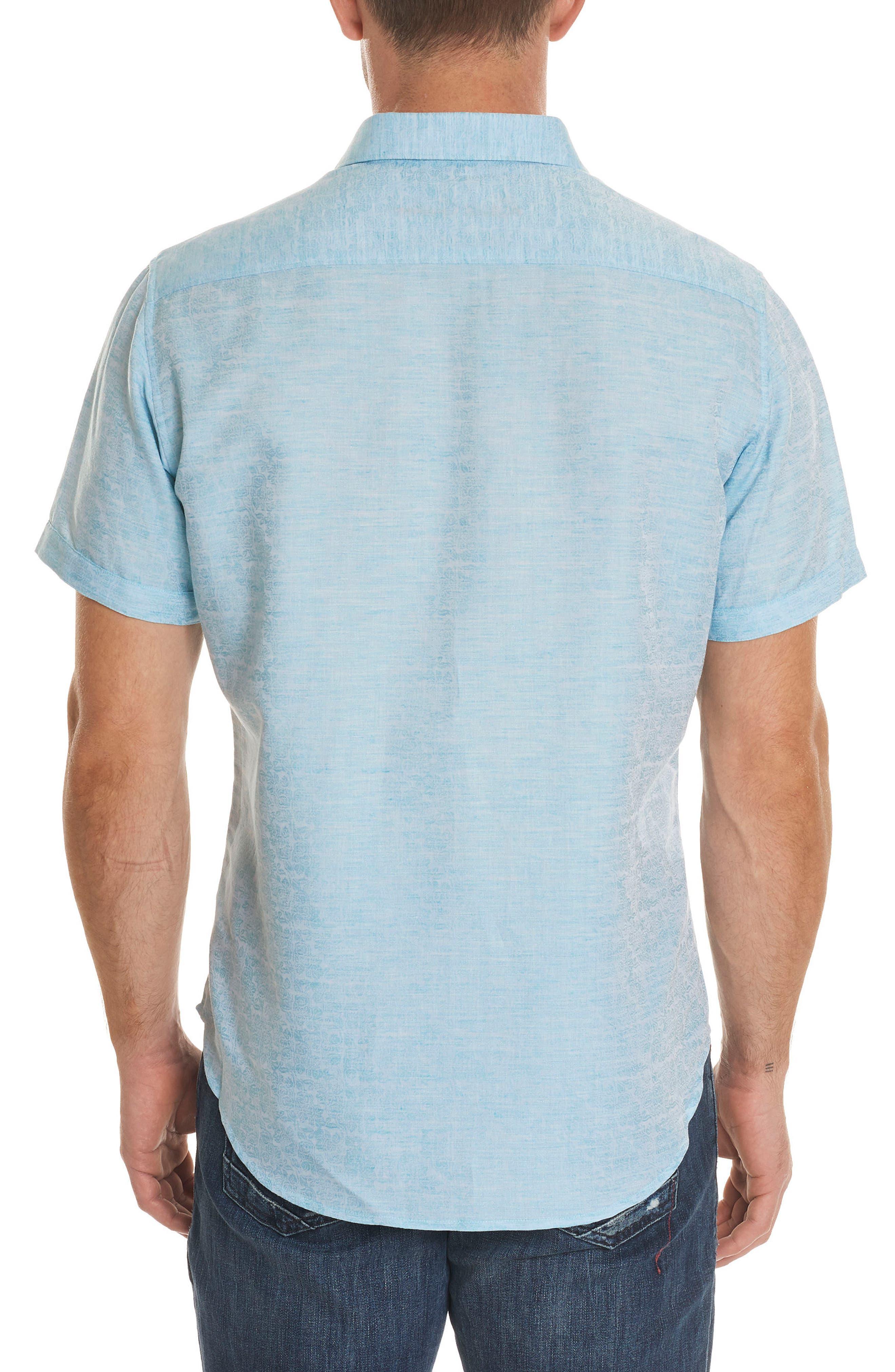 Cyprus Classic Fit Linen & Cotton Sport Shirt,                             Alternate thumbnail 6, color,