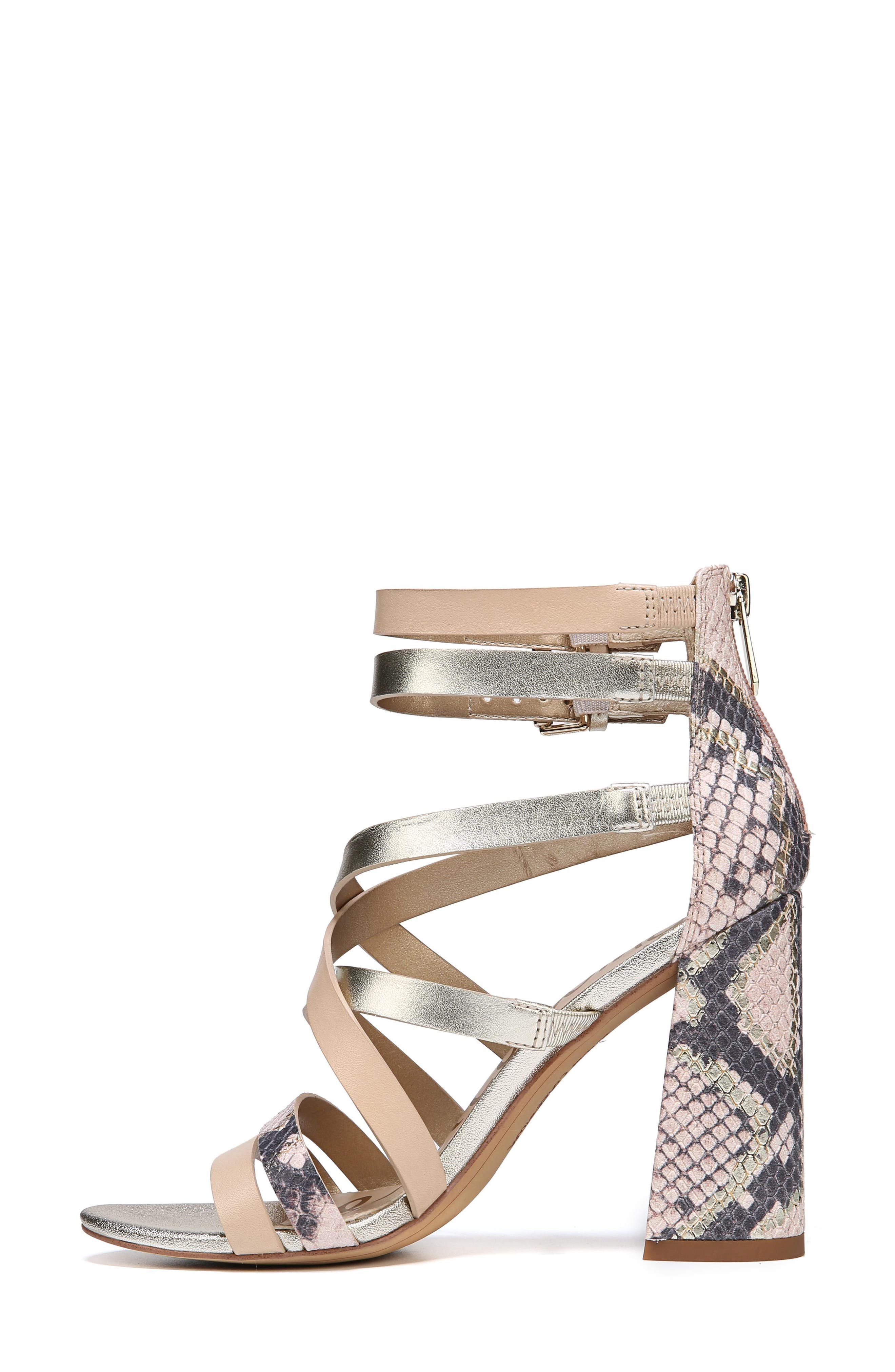 Yema Block Heel Sandal,                             Alternate thumbnail 8, color,                             NATURAL/ PINK/ JUTE