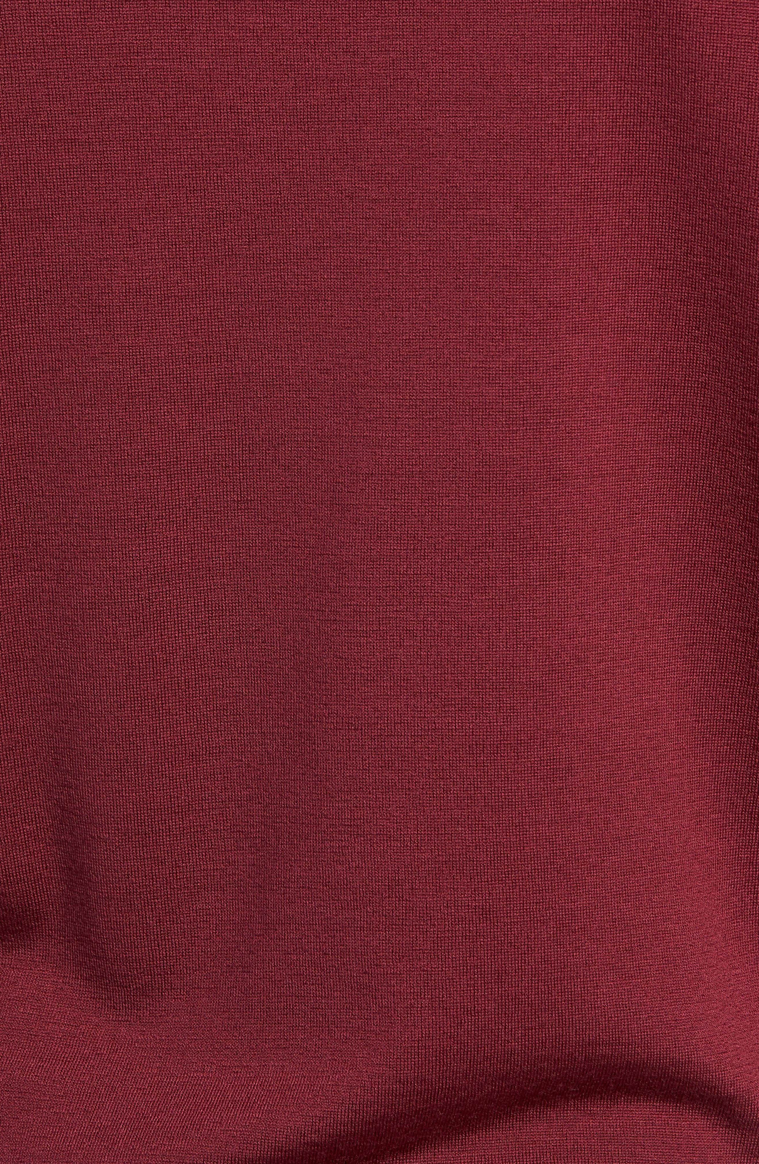 'Marcus' Easy Fit Crewneck Wool Sweater,                             Alternate thumbnail 5, color,                             BOREDAUX