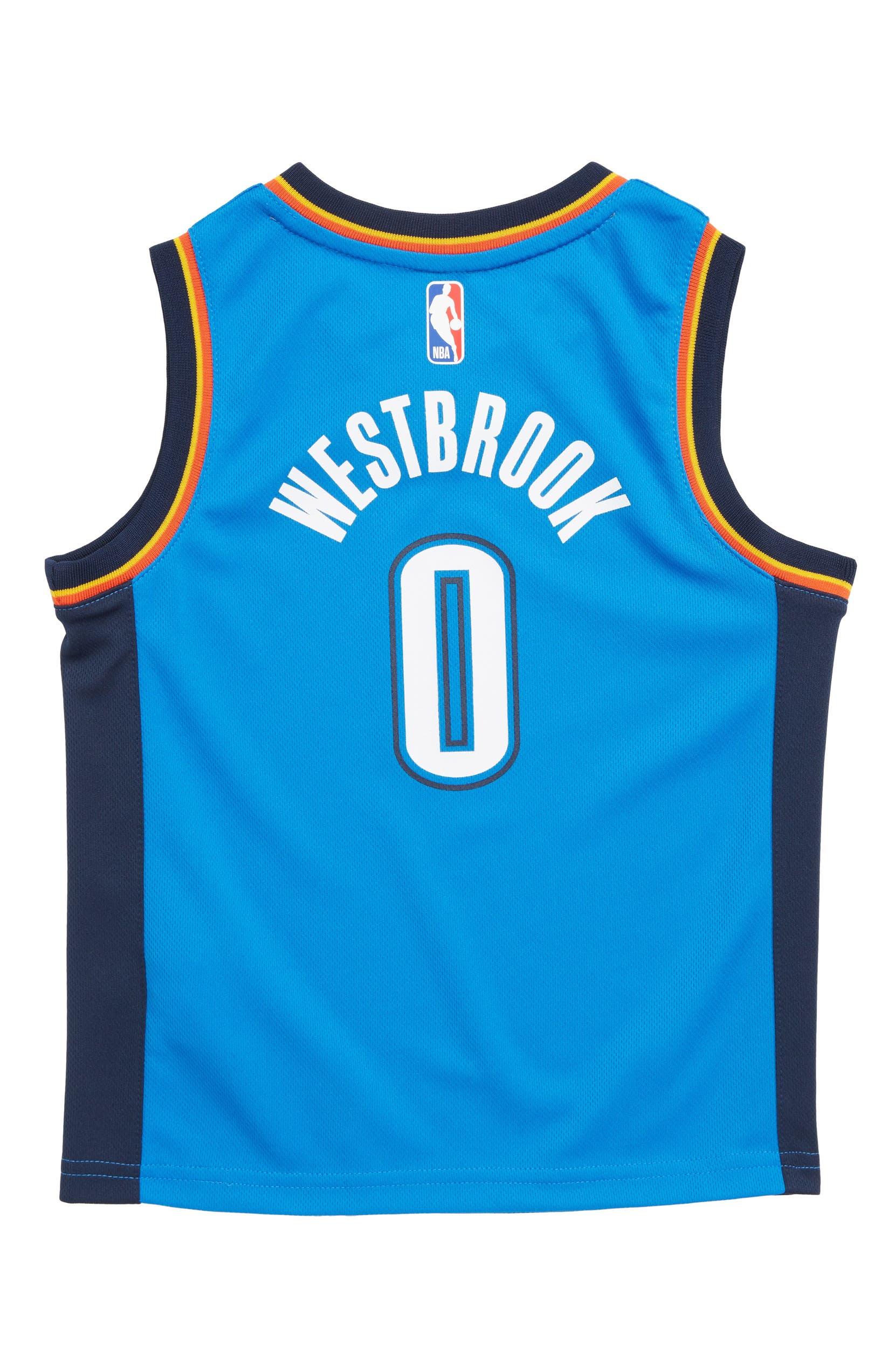 51b8219de Nike Oklahoma City Thunder Russell Westbrook Basketball Jersey (Little Boys)