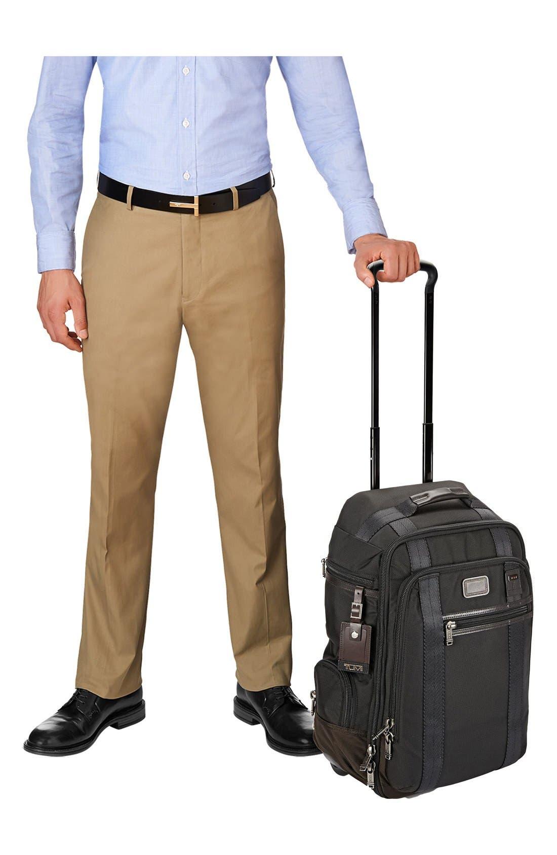 'Alpha Bravo – Peterson' Wheeled Backpack,                             Alternate thumbnail 6, color,                             001