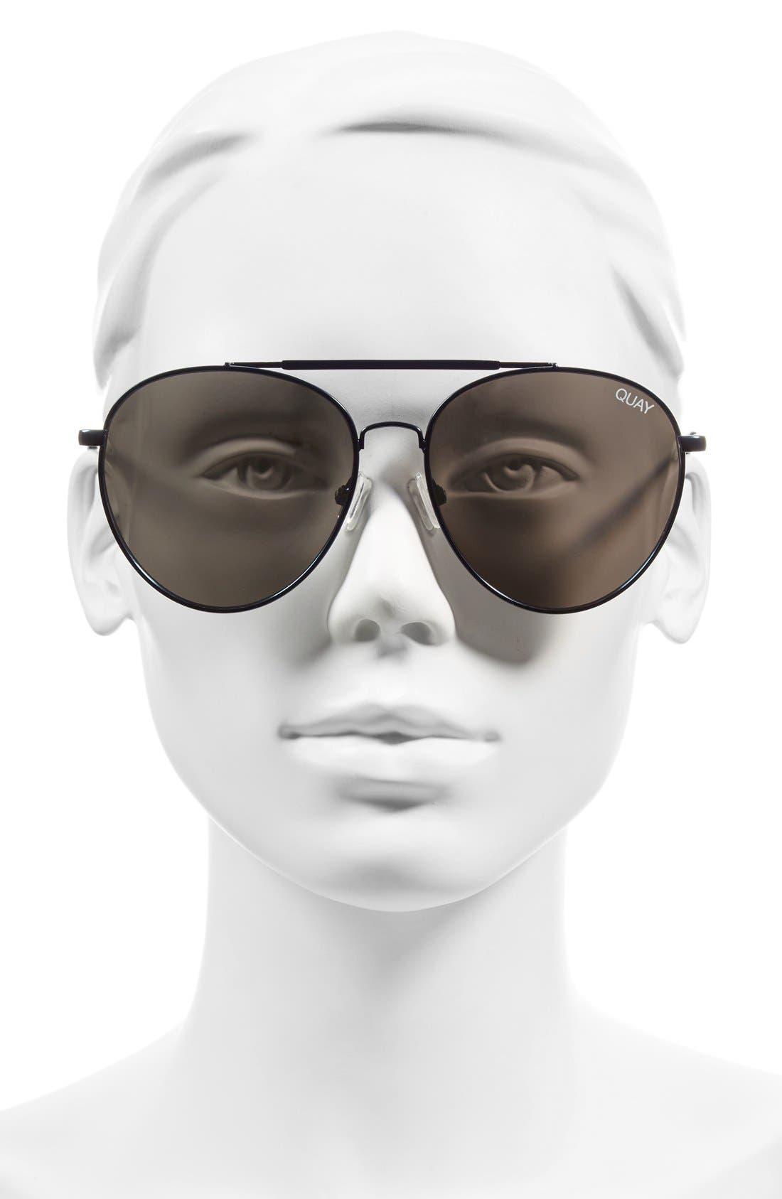 Lickety Split 58mm Aviator Sunglasses,                             Alternate thumbnail 2, color,                             040