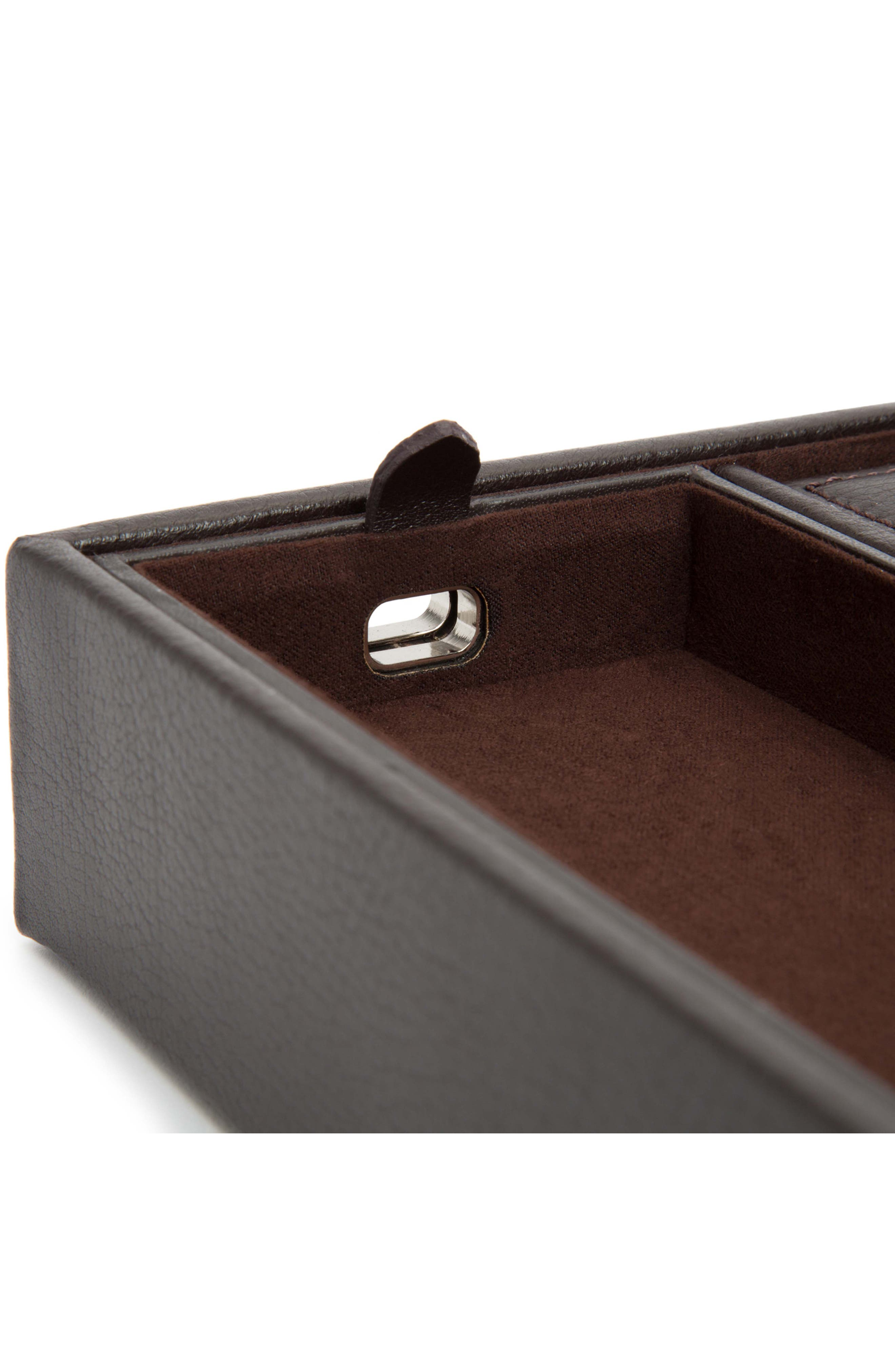 Blake Valet Tray & Watch Cuff,                             Alternate thumbnail 3, color,                             BROWN