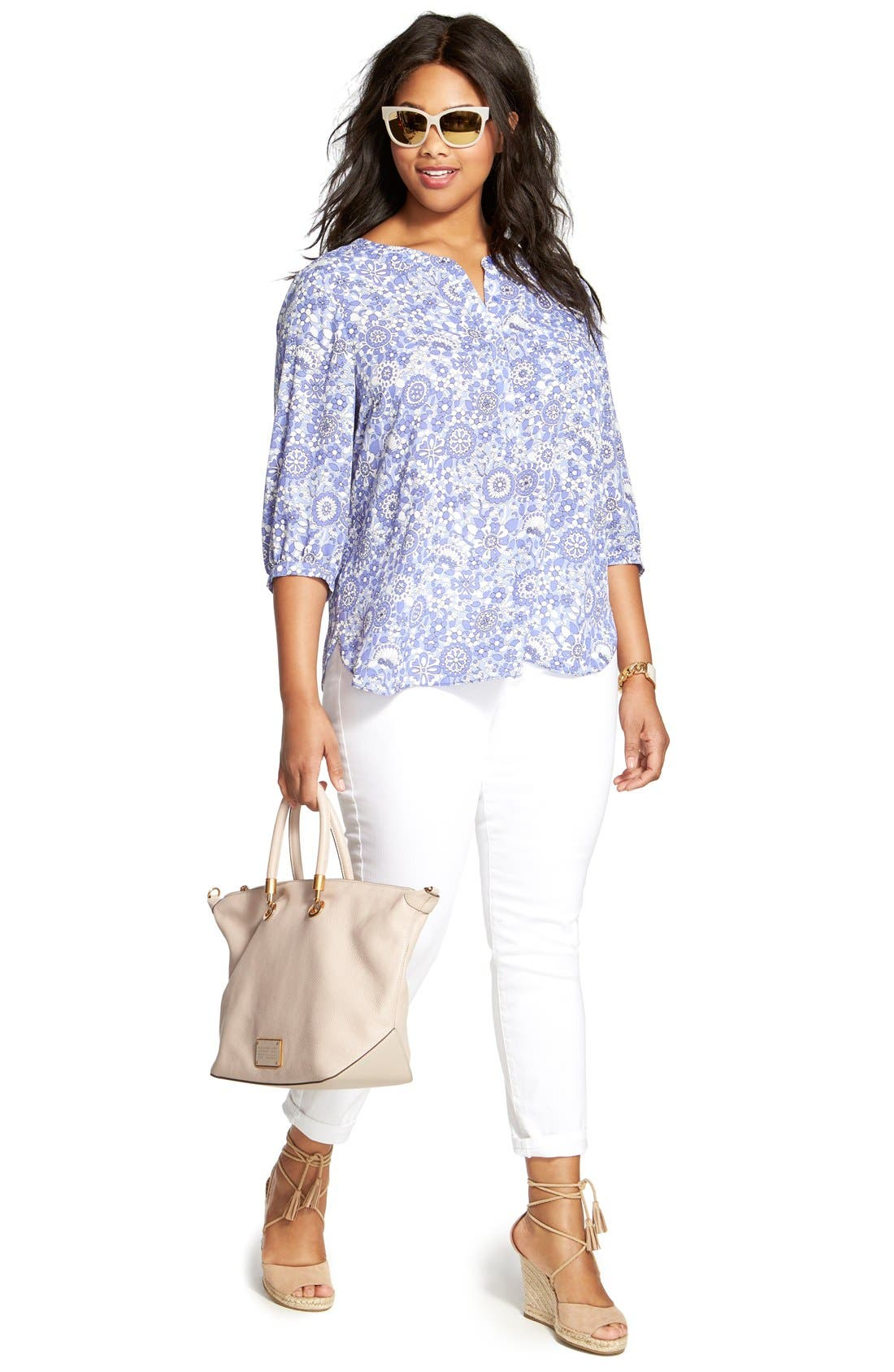 Henley Top,                             Alternate thumbnail 315, color,