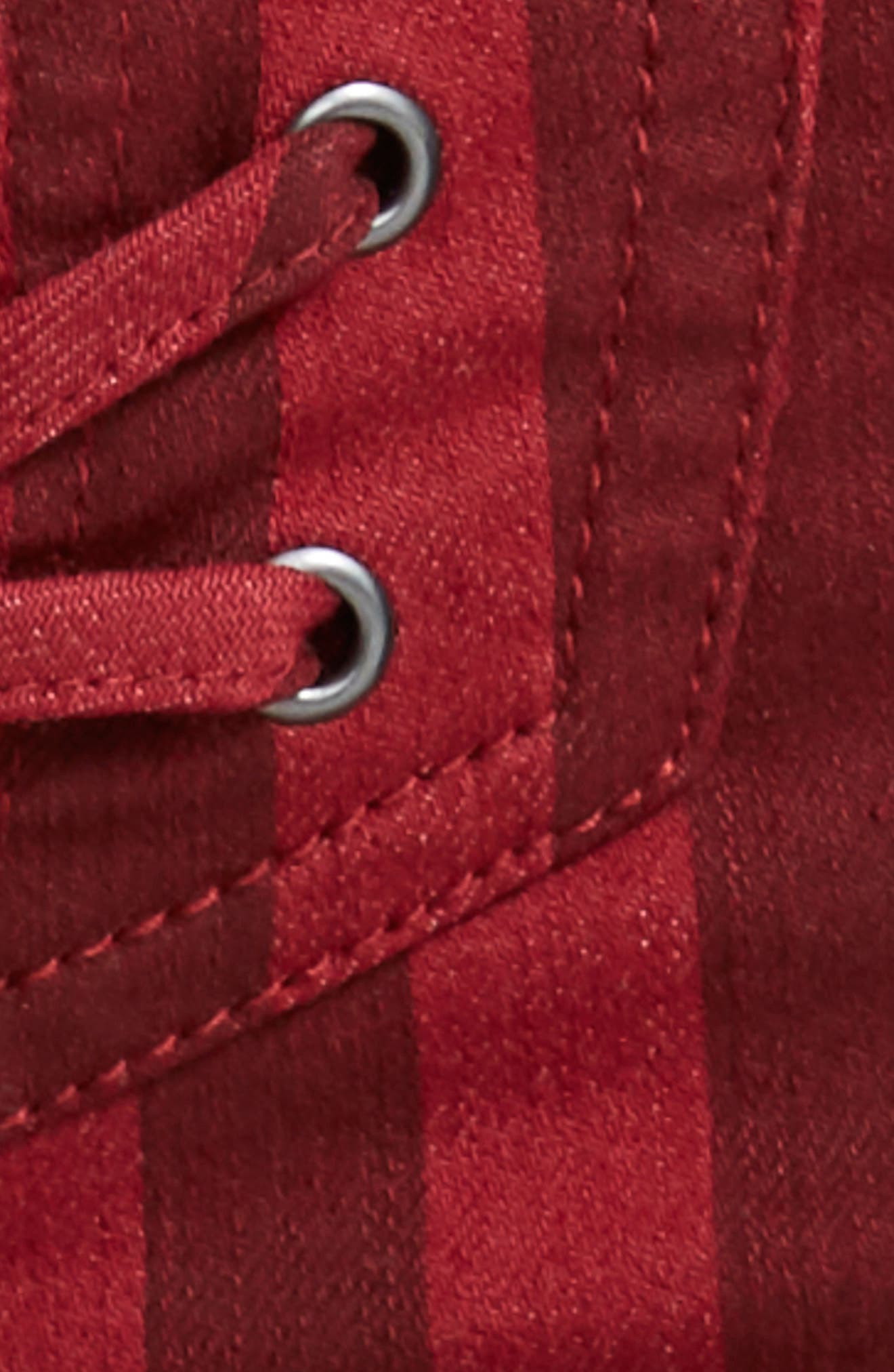 Alden Lace-Up Skinny Jeans,                             Alternate thumbnail 8, color,