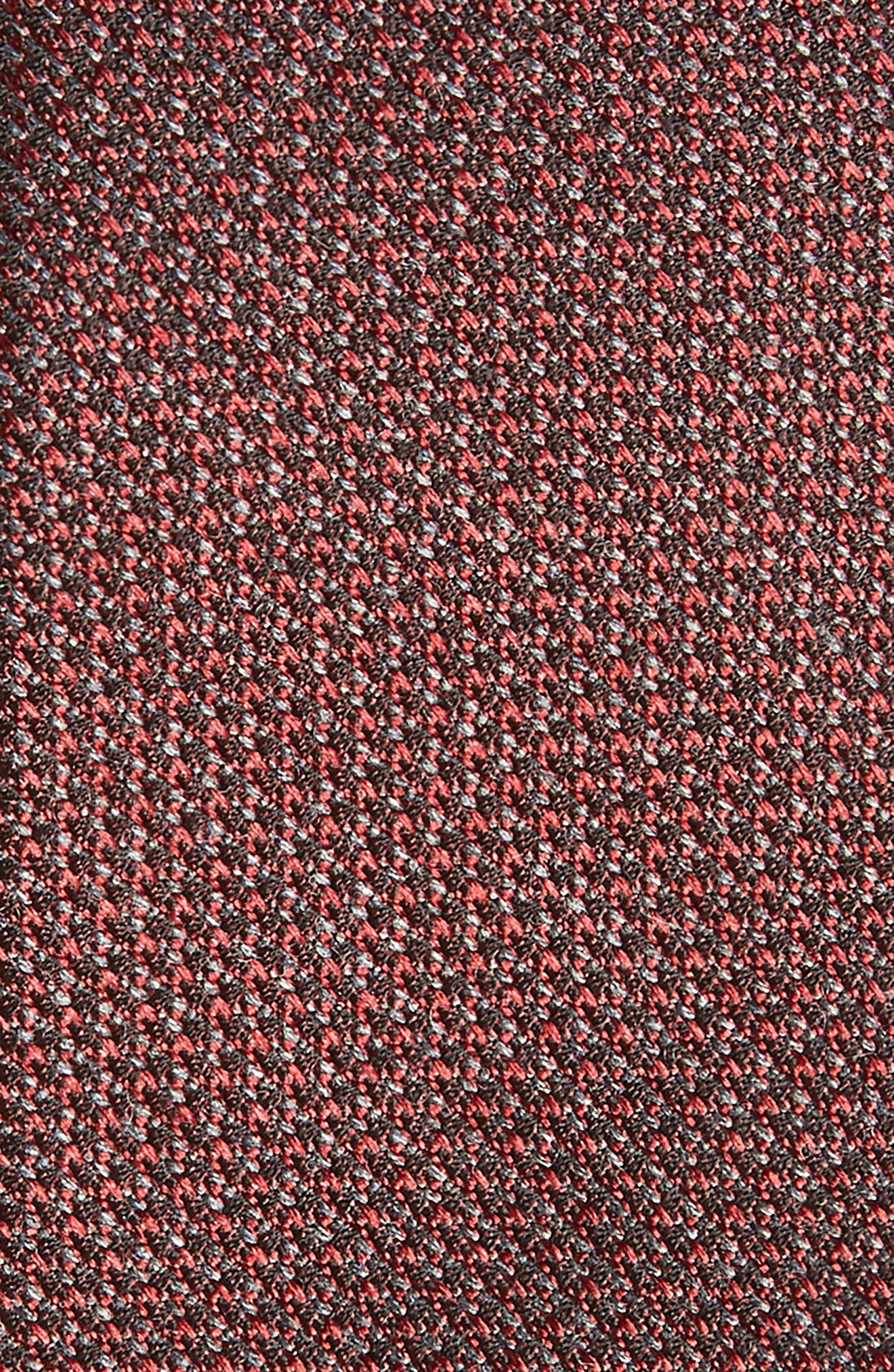 Kenton Textured Silk Blend Skinny Tie,                             Alternate thumbnail 10, color,