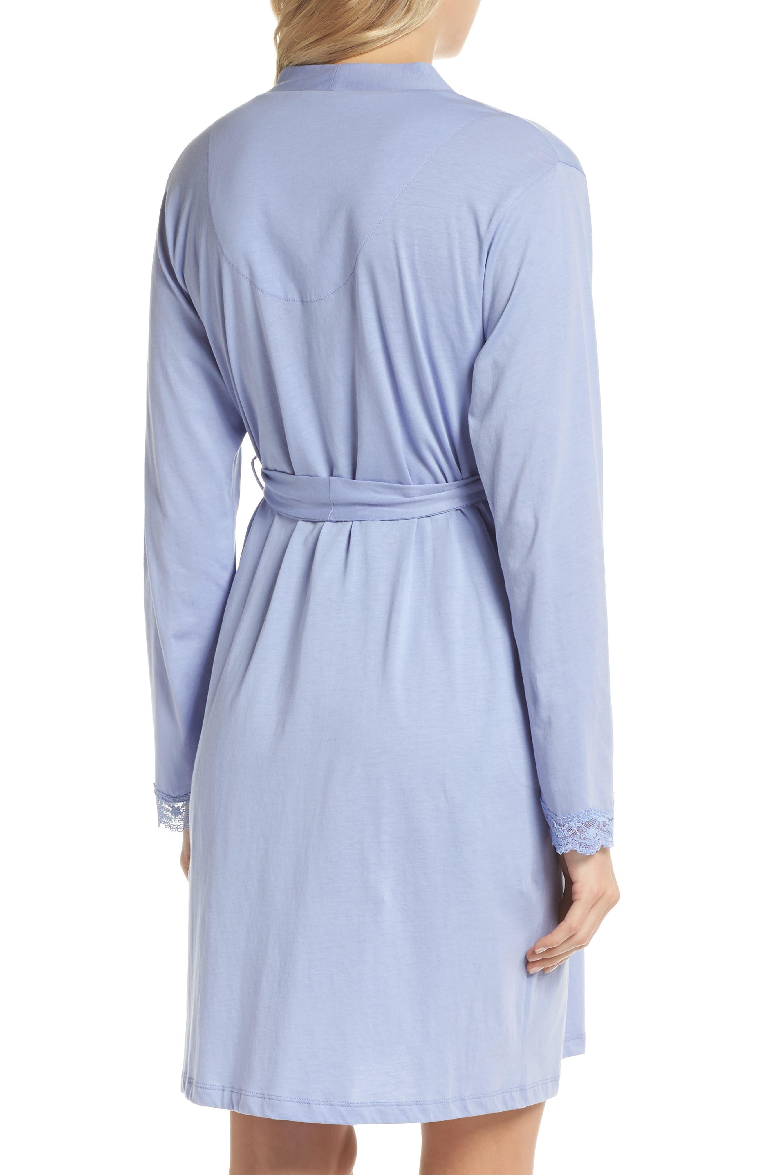Violette Maternity/Nursing Robe,                             Alternate thumbnail 2, color,                             PURPLE