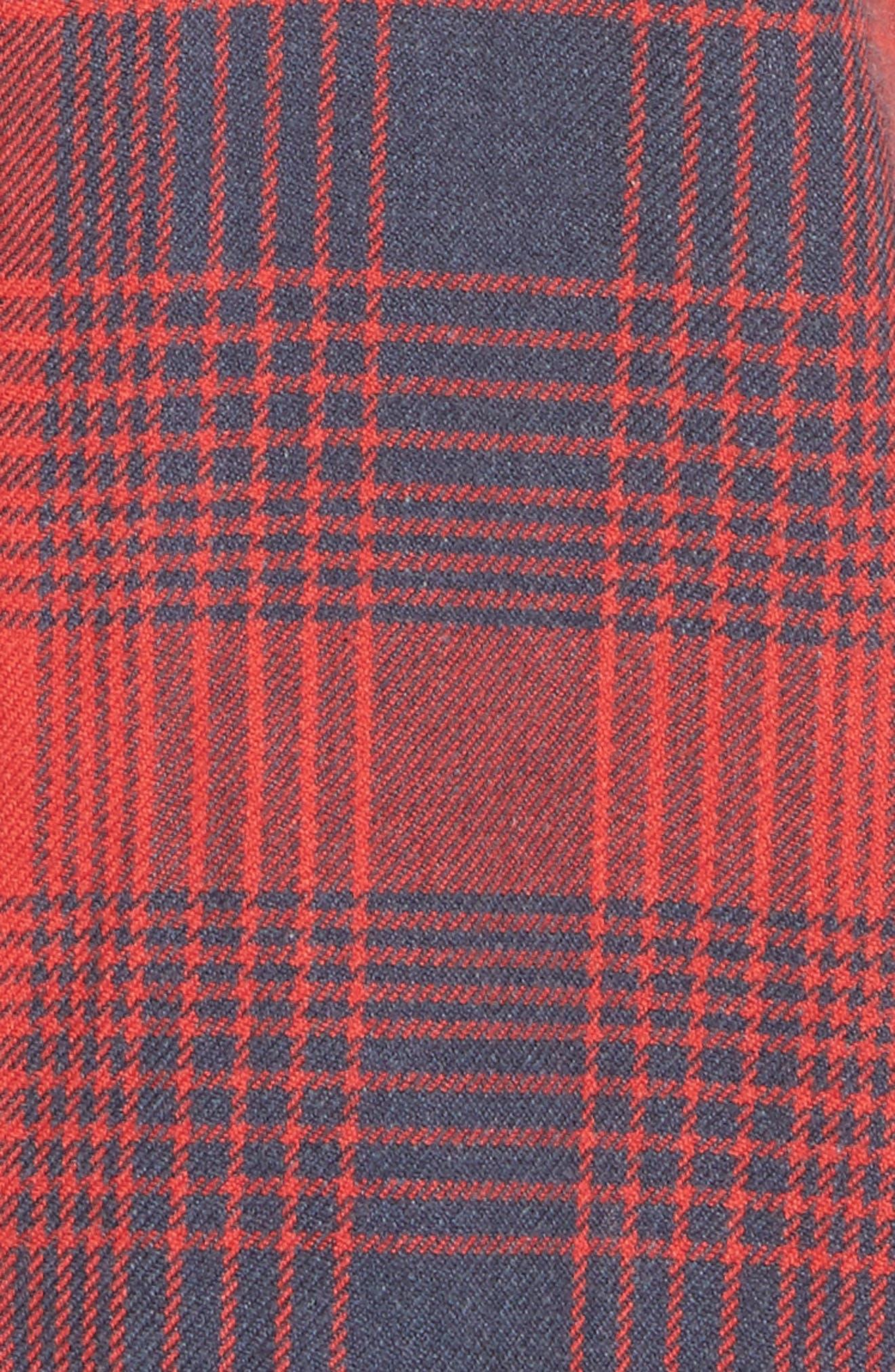 Plaid Woven Shirt,                             Alternate thumbnail 5, color,                             620