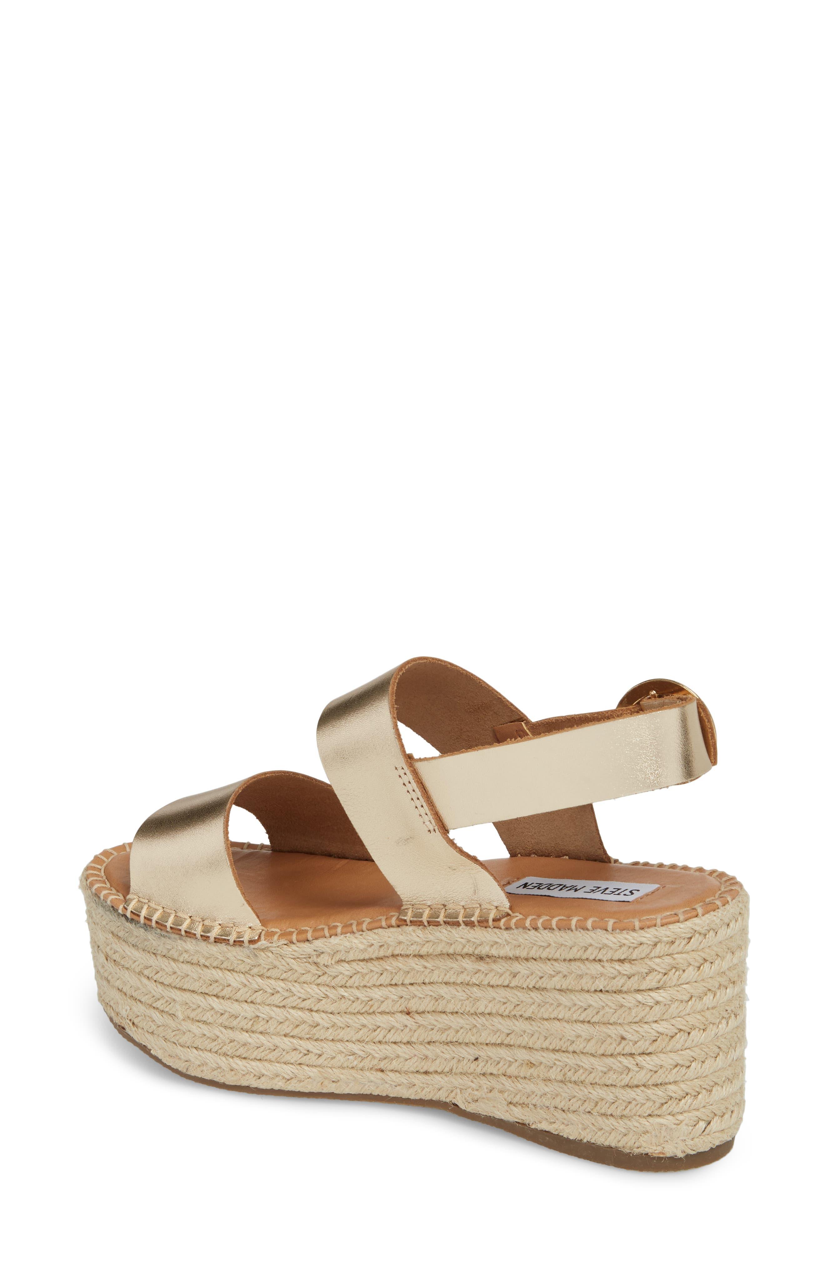 Cali Espadrille Platform Sandal,                             Alternate thumbnail 6, color,