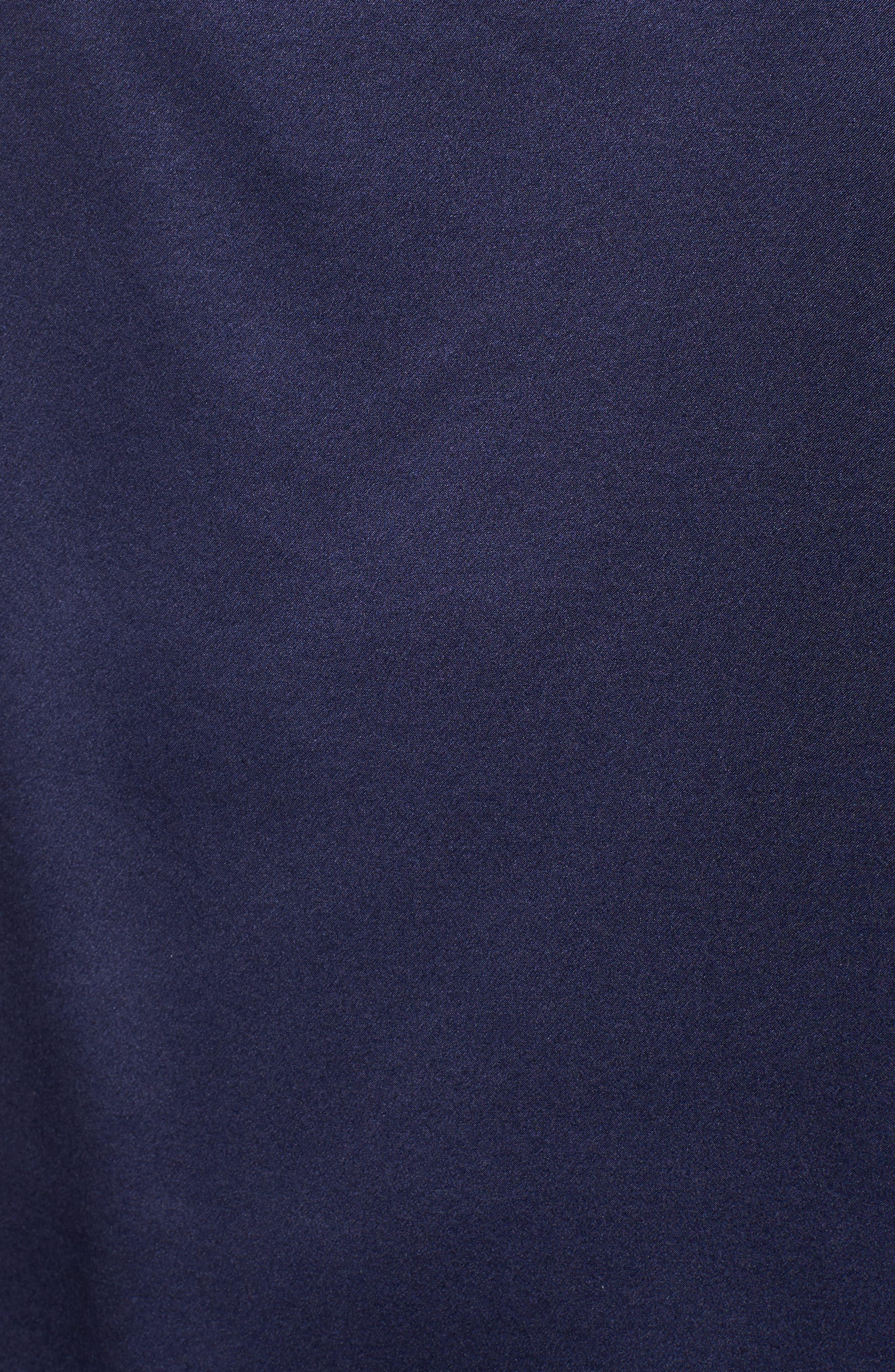 Connie Cold Shoulder Silk Top,                             Alternate thumbnail 5, color,                             418