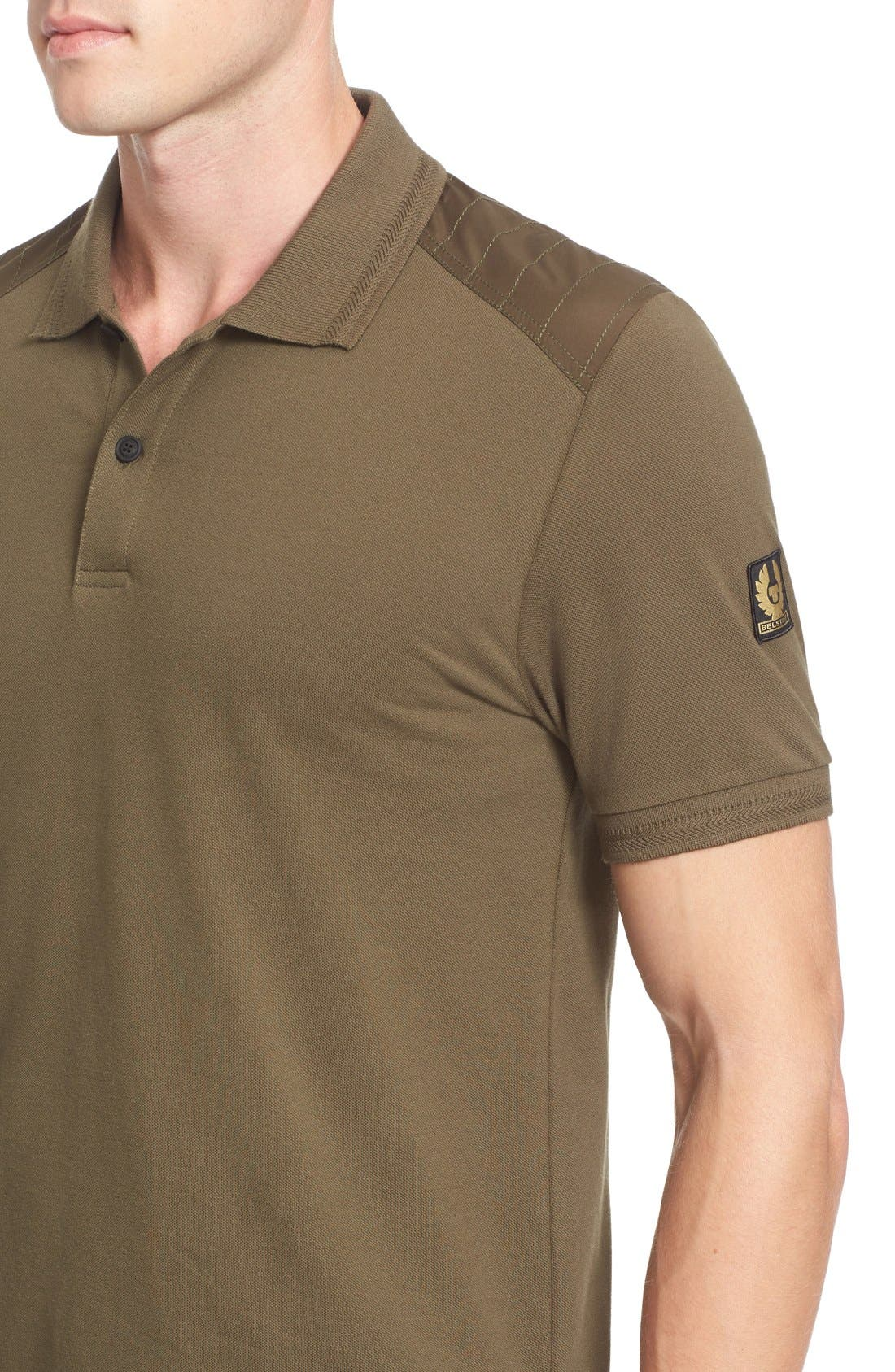 HItchin Extra Trim Fit Piqué Polo,                             Alternate thumbnail 25, color,