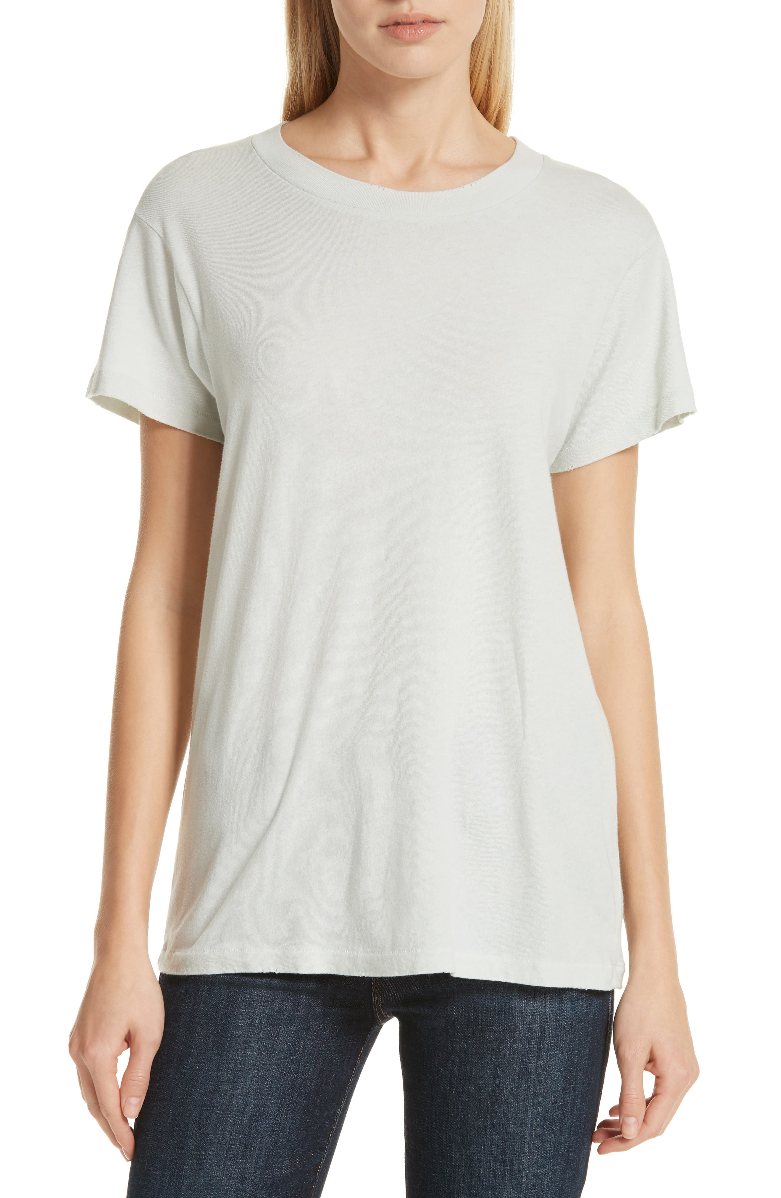 The Slim Tee,                             Main thumbnail 1, color,                             ICE GREEN