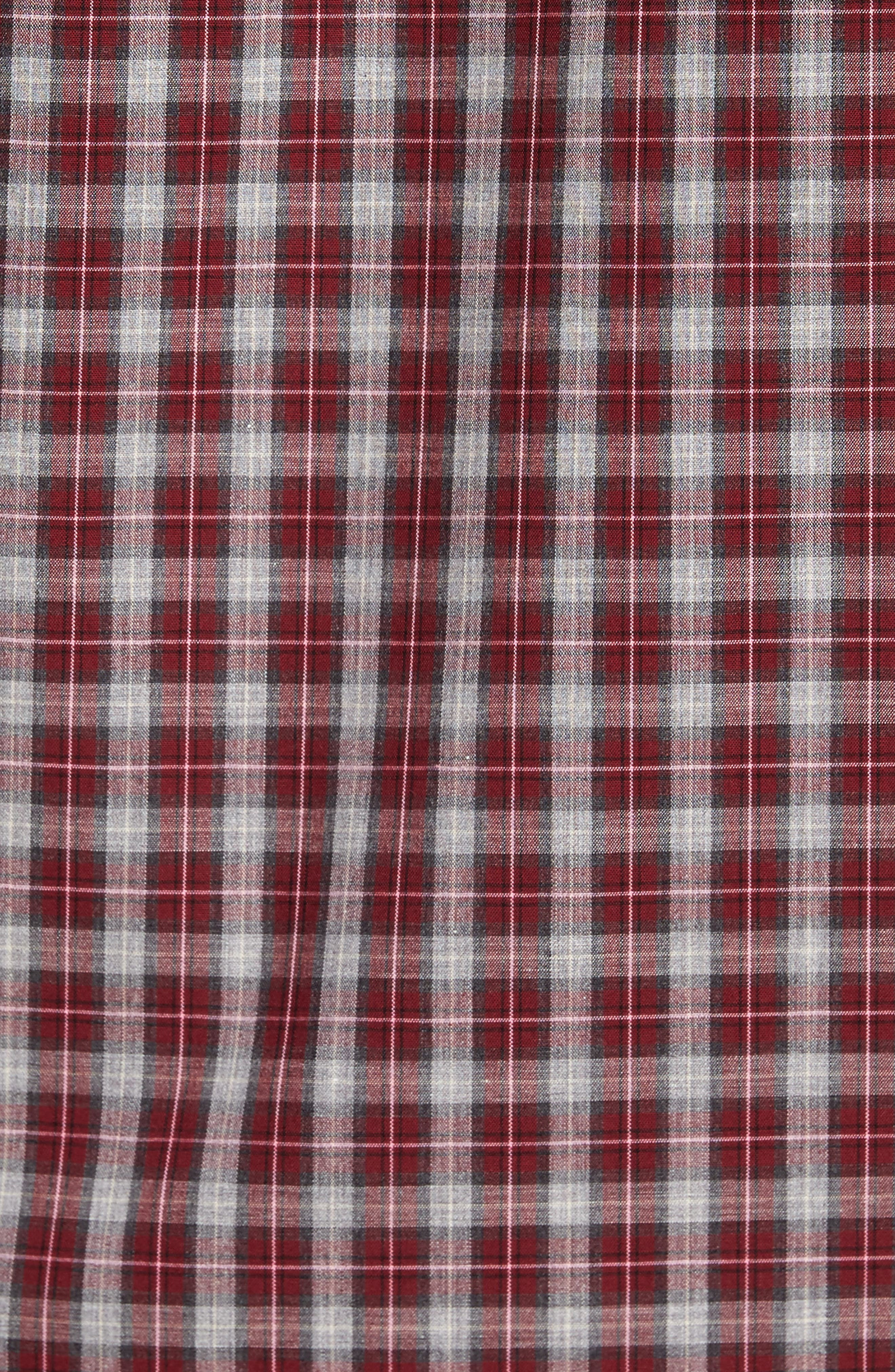 Regular Fit Non-Iron Check Sport Shirt,                             Alternate thumbnail 5, color,                             610