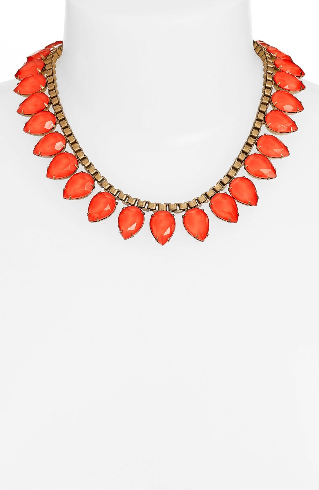 'Sylvia' Crystal Collar Necklace,                             Alternate thumbnail 17, color,