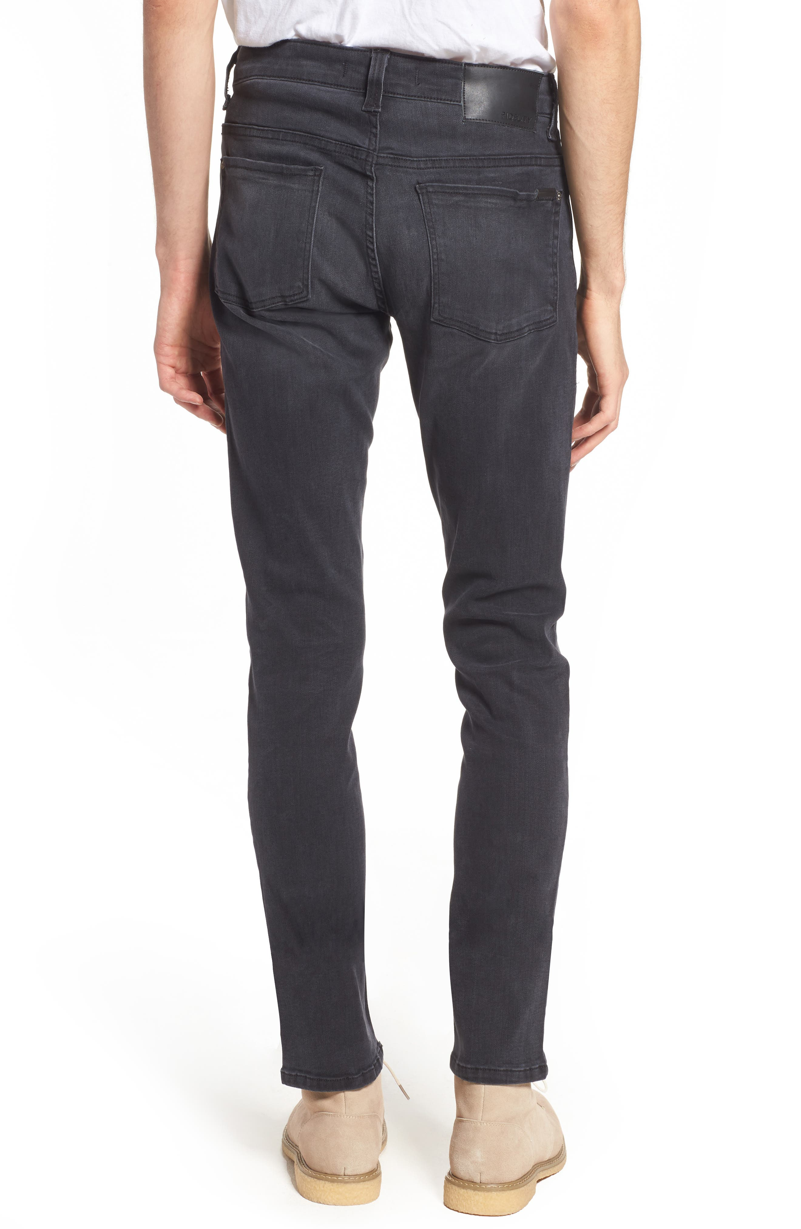 Vantage Skinny Fit Jeans,                             Alternate thumbnail 2, color,                             WOLF GREY