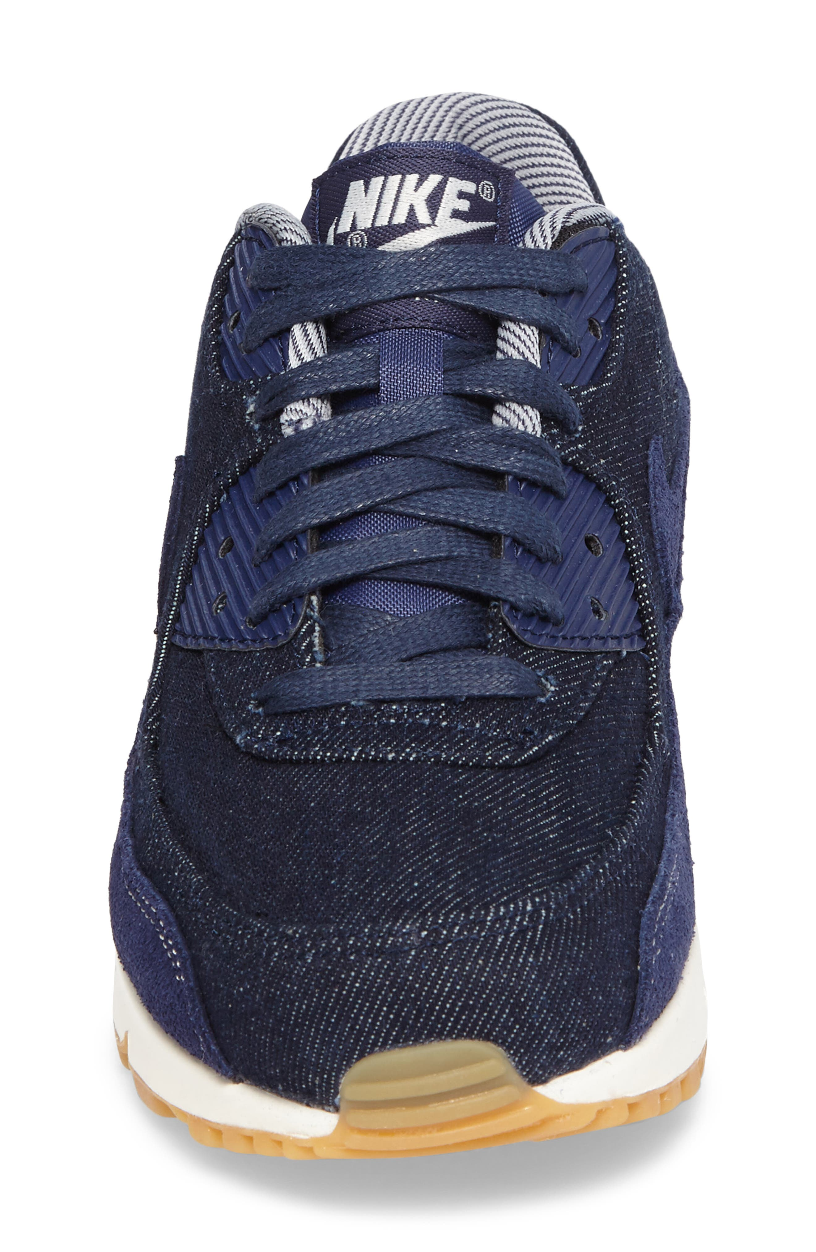 Air Max 90 SE Sneaker,                             Alternate thumbnail 34, color,