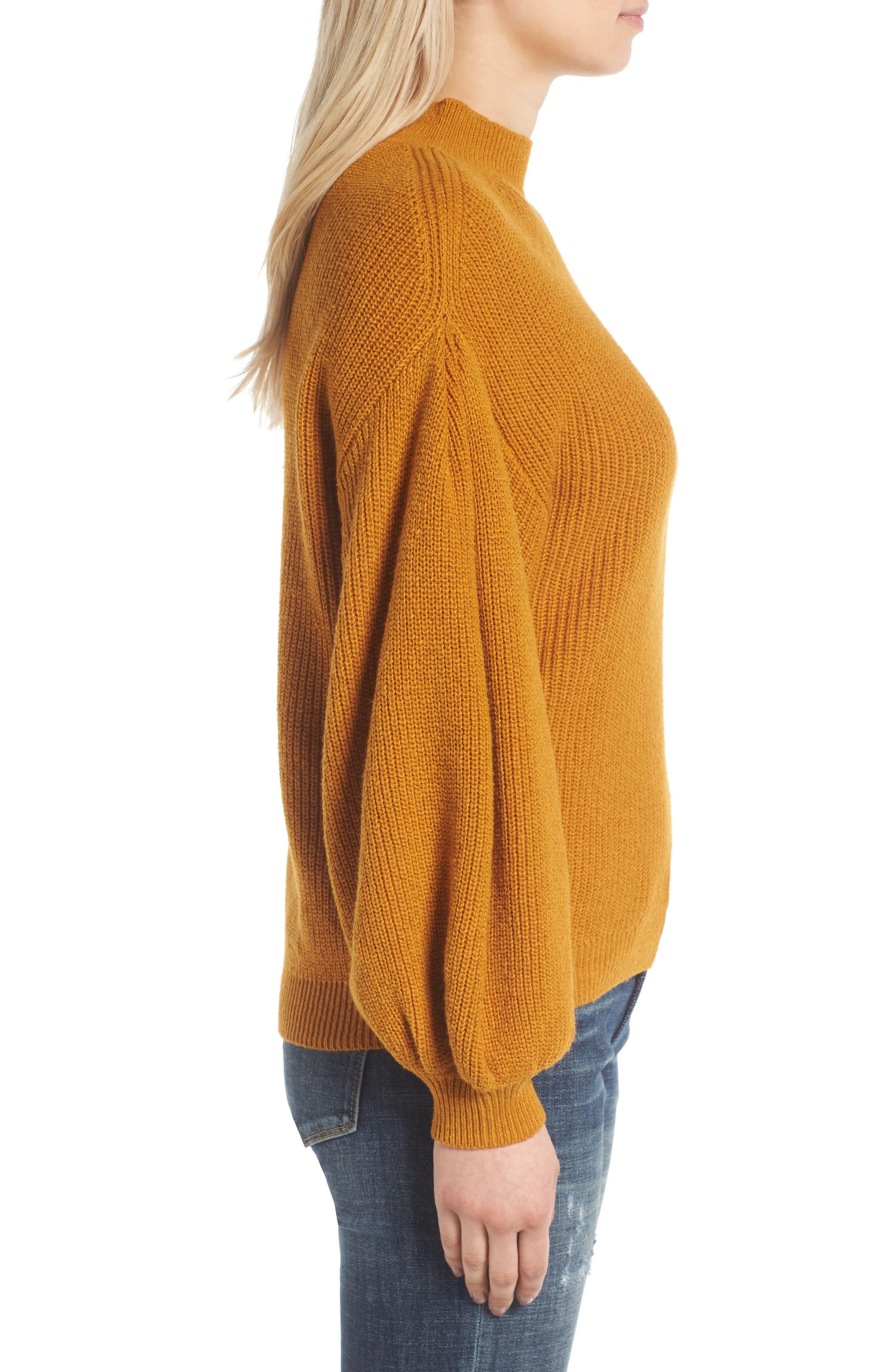 Blouson Sleeve Sweater,                             Alternate thumbnail 12, color,